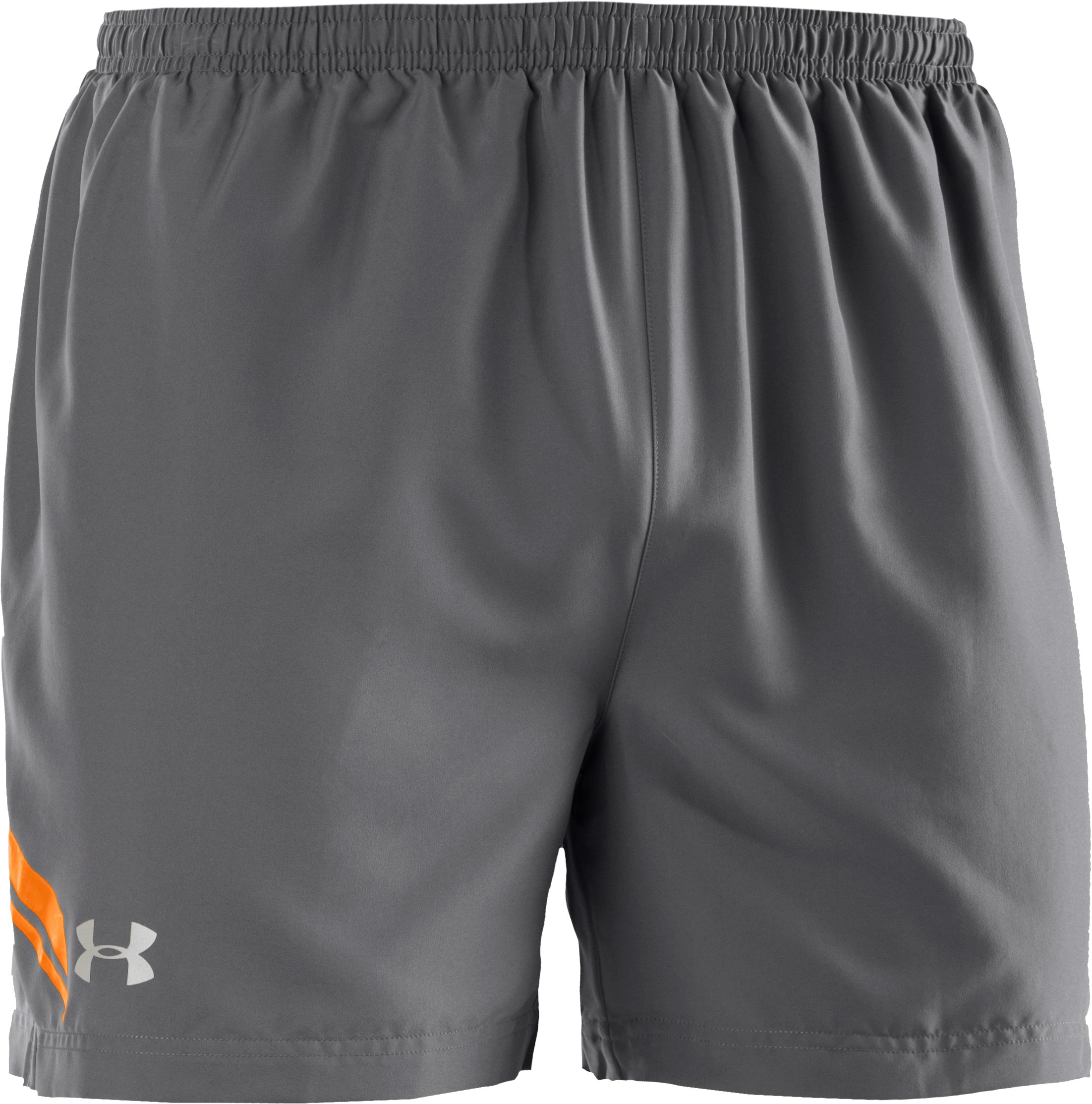 "Men's UA Escape 5"" Woven Shorts, Graphite"