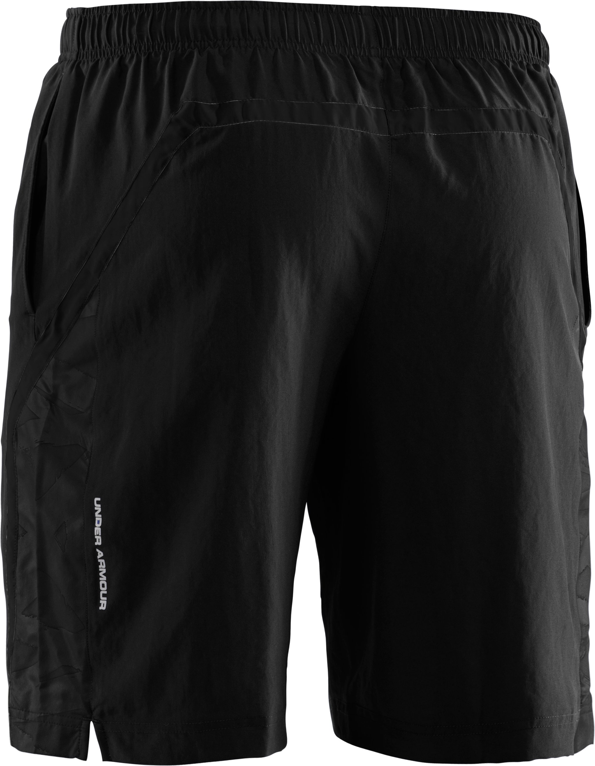 "Men's UA Escape 9"" Woven Shorts, Black"