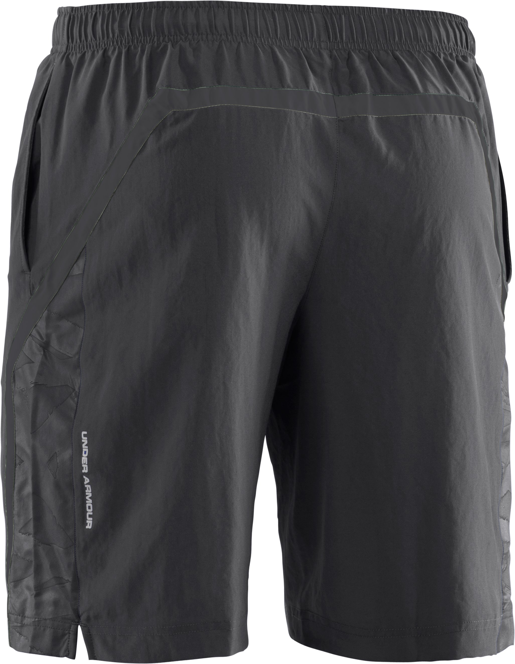 "Men's UA Escape 9"" Woven Shorts, Graphite"