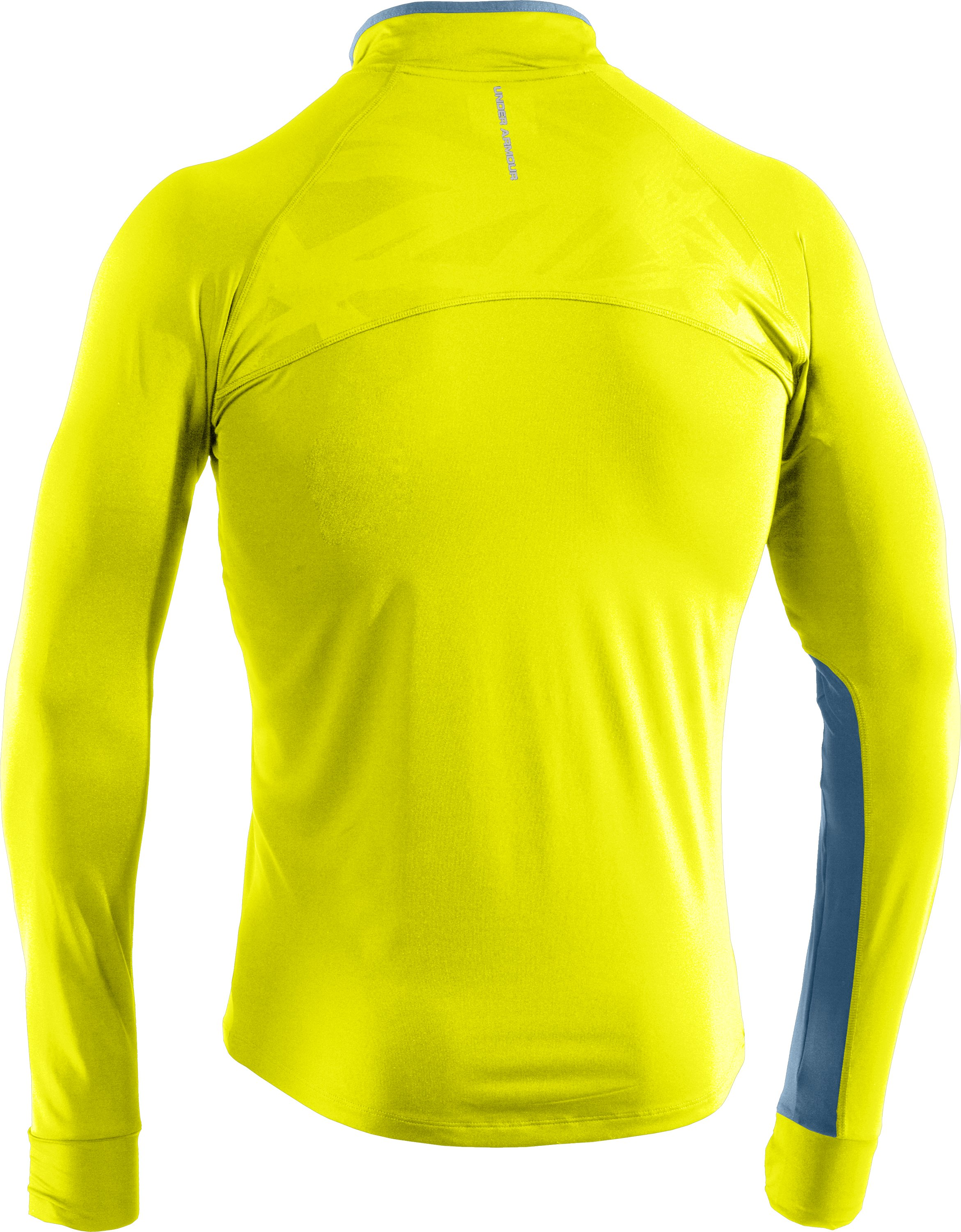 Men's UA Imminent Run ¼ Zip, High-Vis Yellow, undefined