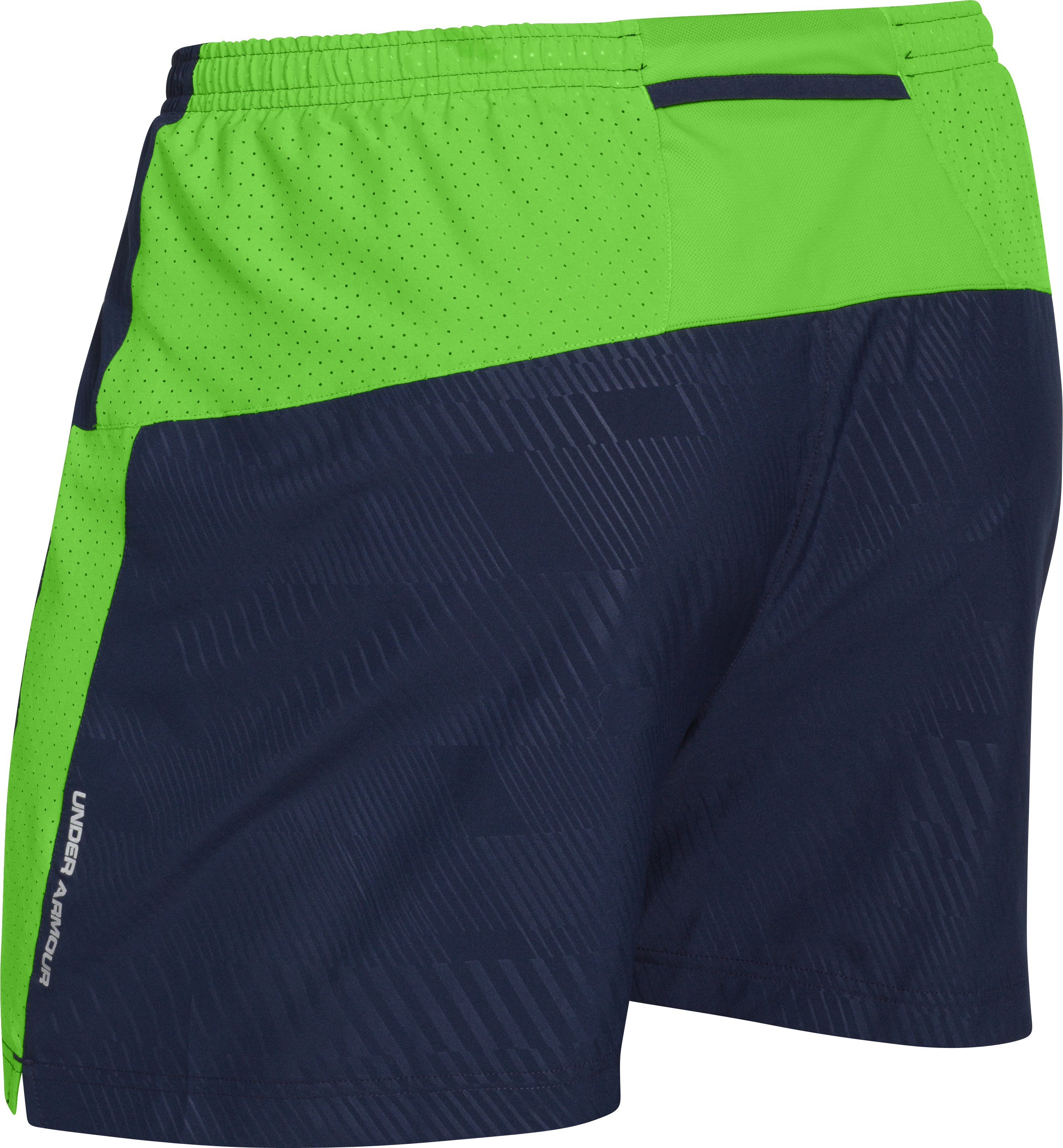 Men's UA HeatGear® Flyweight Run Shorts, Academy, undefined