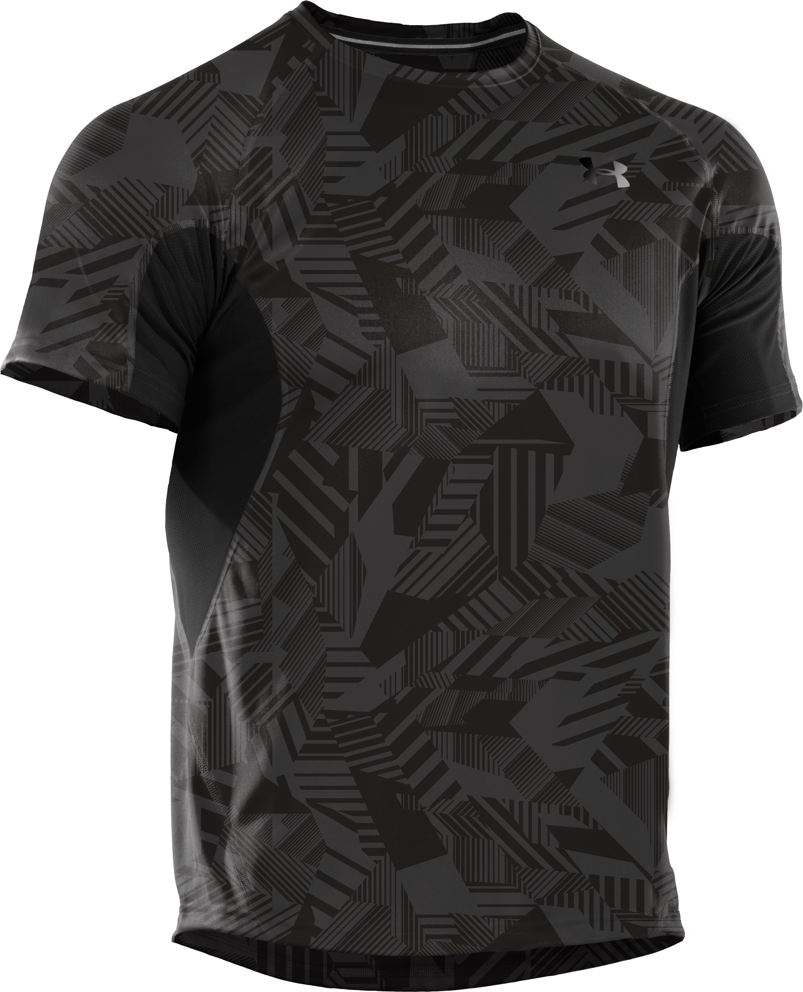 Men's coldblack® Engage Run T-Shirt, Black