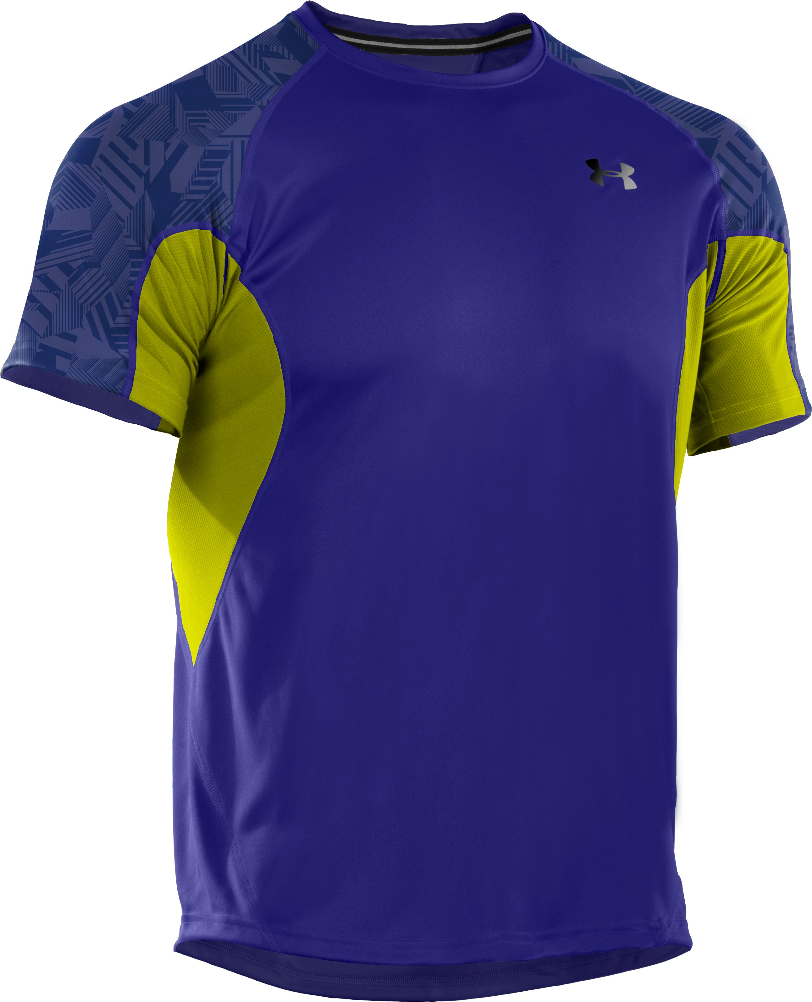 Men's coldblack® Engage Run T-Shirt, Caspian