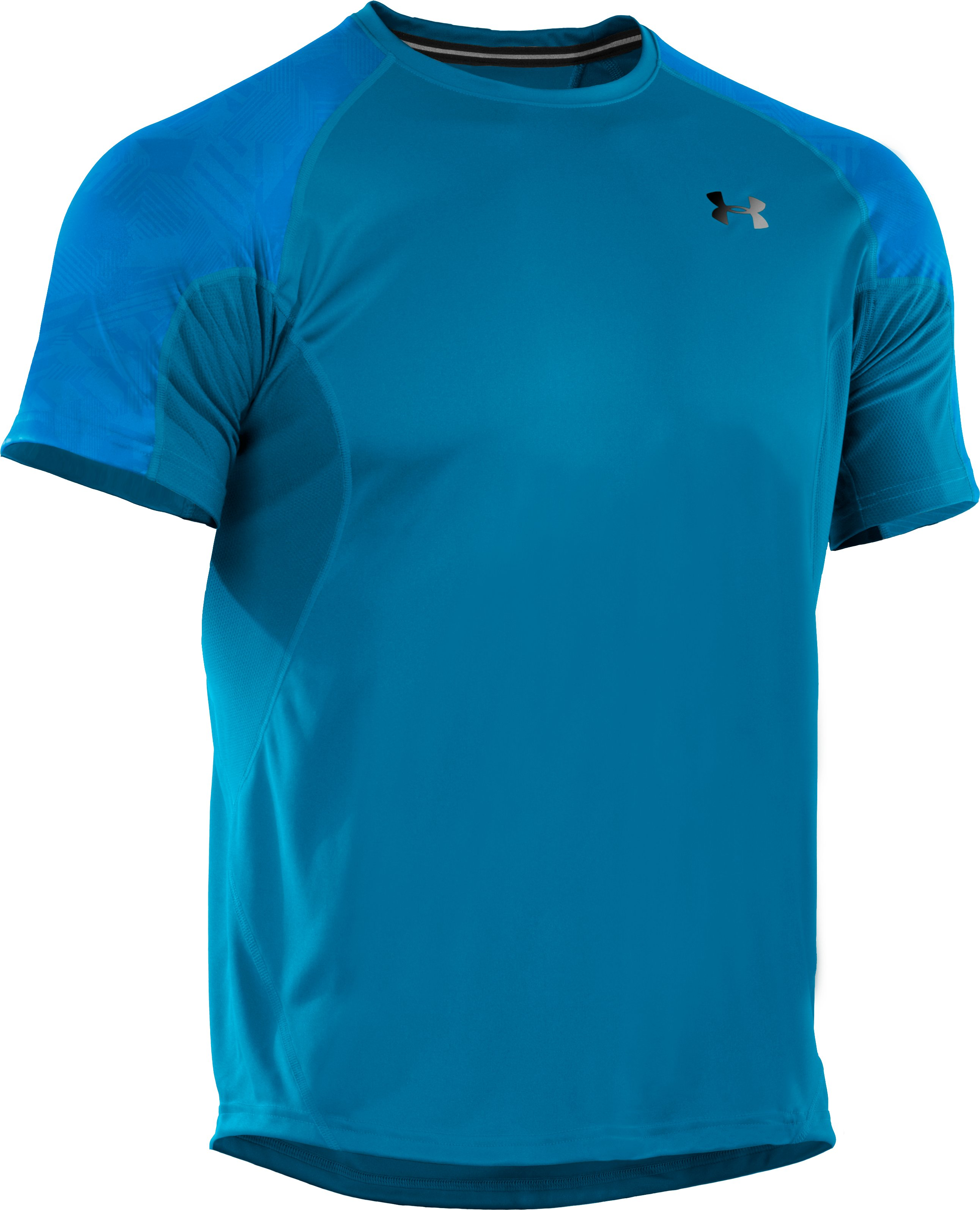 Men's coldblack® Engage Run T-Shirt, SNORKEL