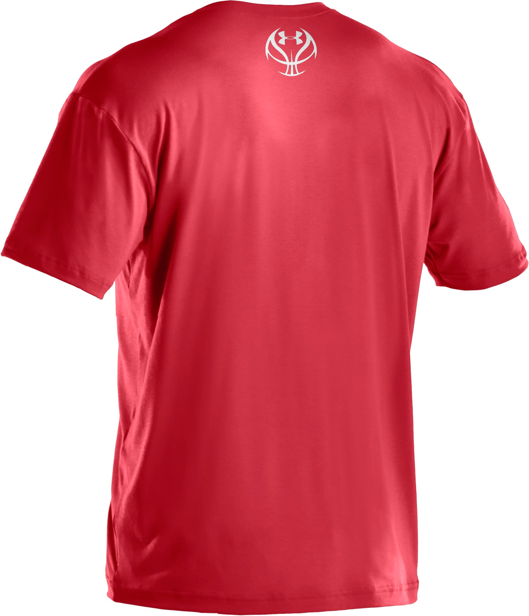 Boys' UA Splatter Icon T-Shirt, Red,