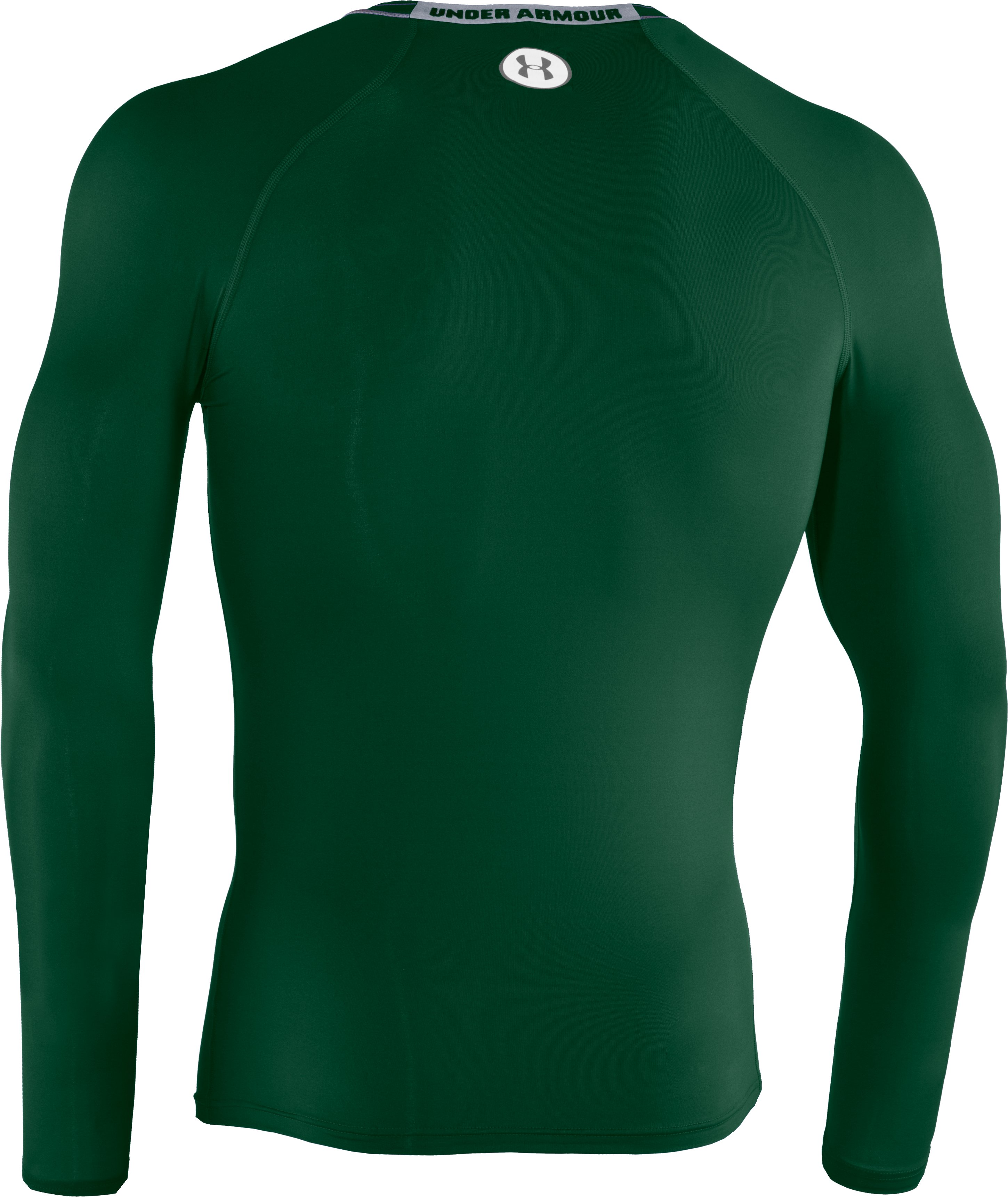 Men's HeatGear® Sonic Compression Long Sleeve, Forest Green