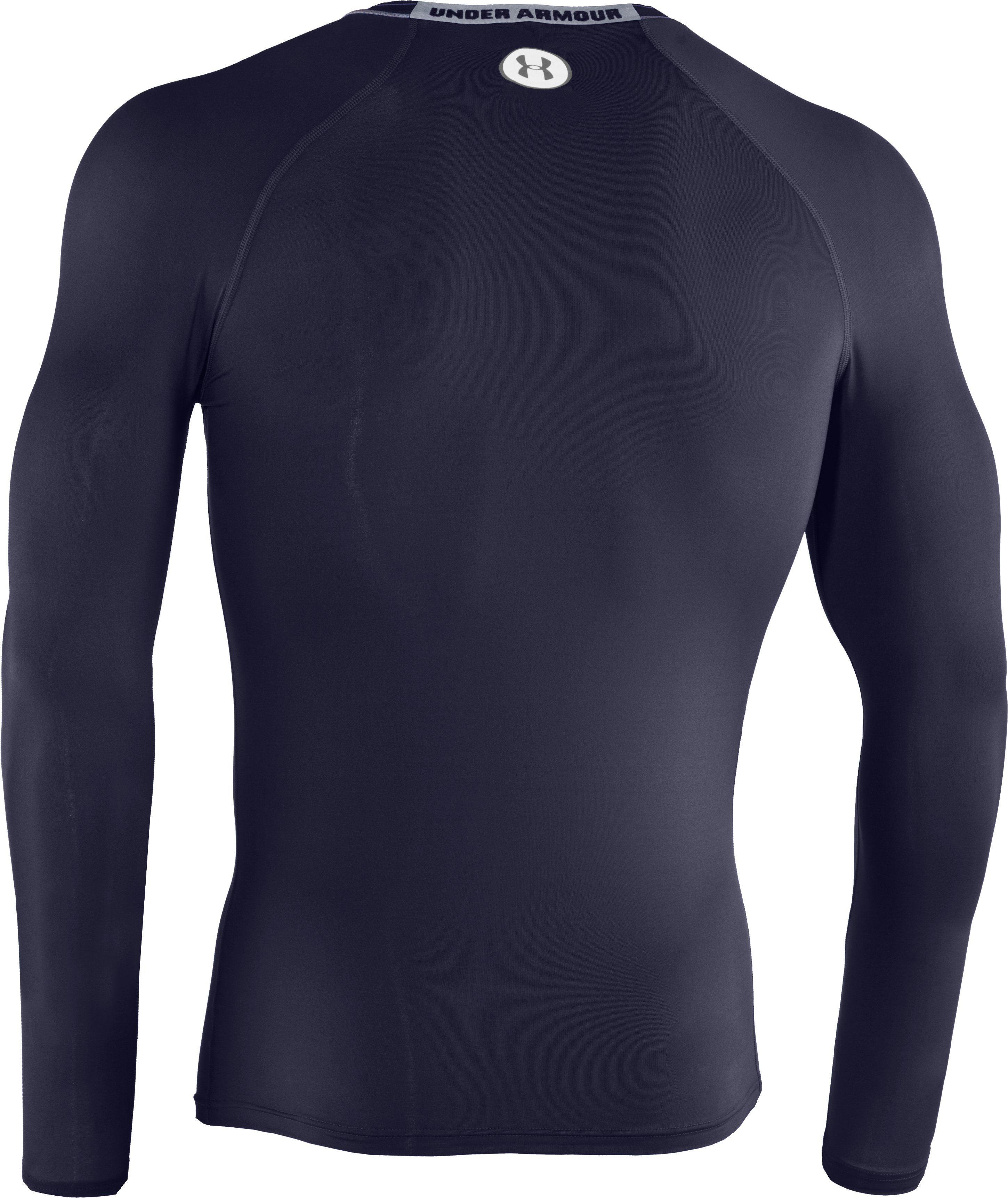 Men's HeatGear® Sonic Compression Long Sleeve, Midnight Navy