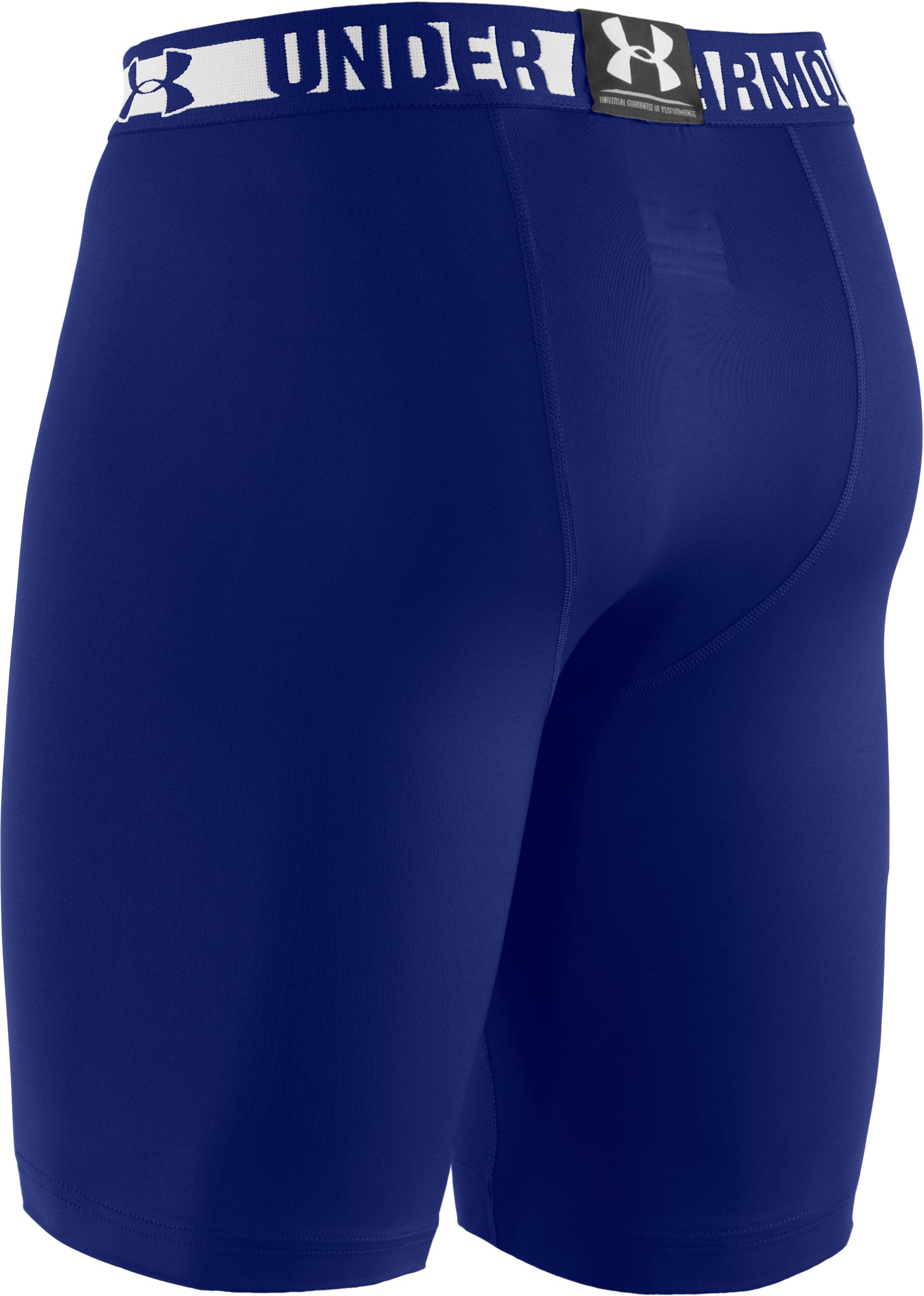 Men's HeatGear® Sonic Compression Shorts, Royal, undefined