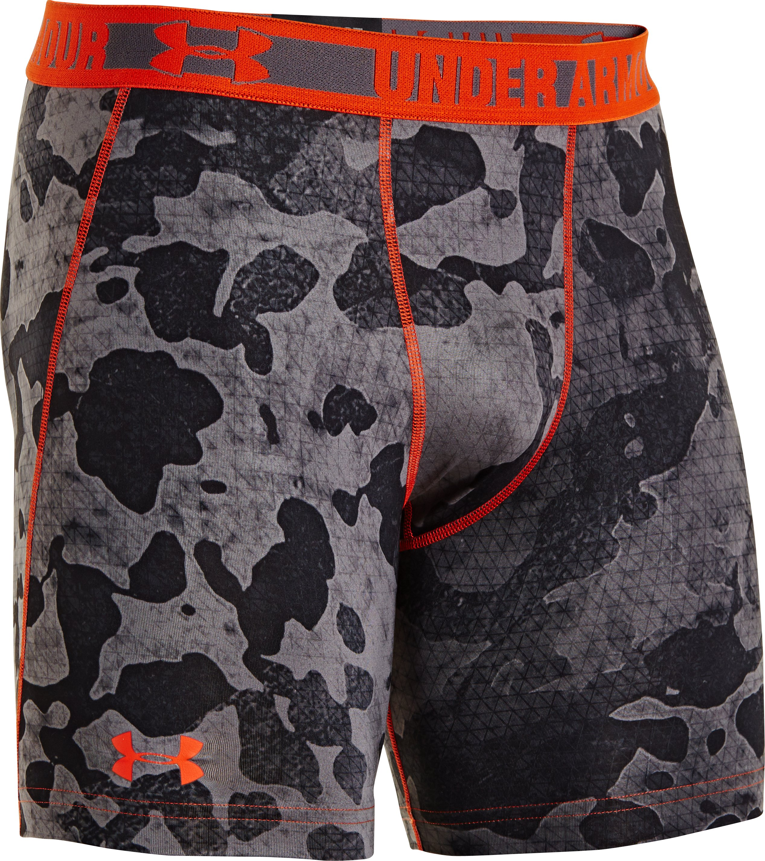 Men's HeatGear® Sonic Printed Compression Shorts, Graphite