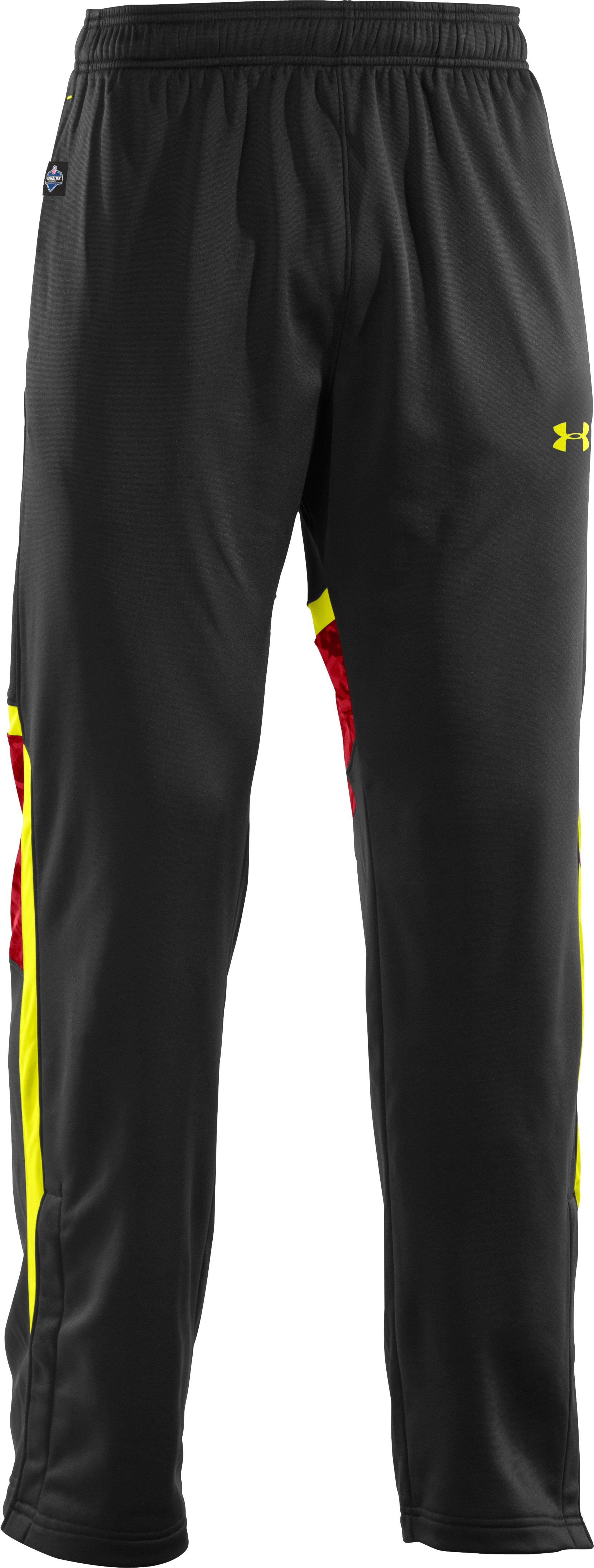 Men's NFL Combine Authentic Warm-Up Pants, Black , undefined