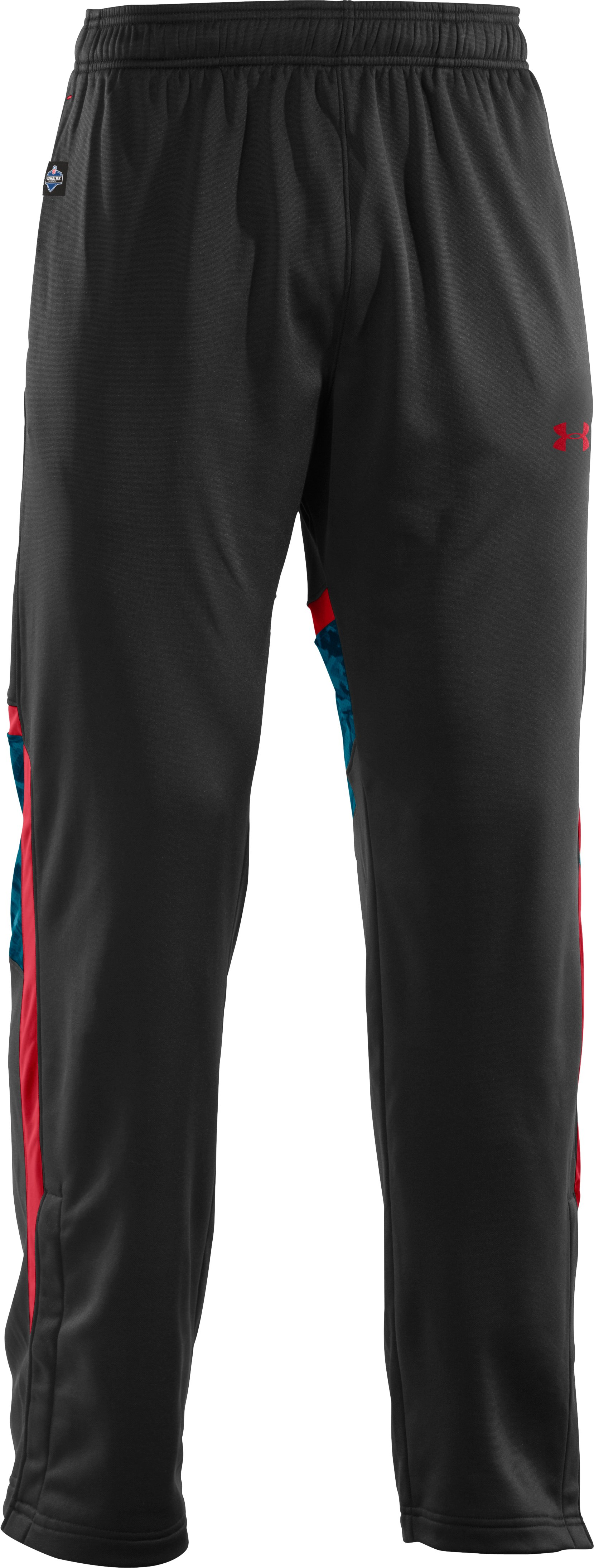 Men's NFL Combine Authentic Warm-Up Pants, Black