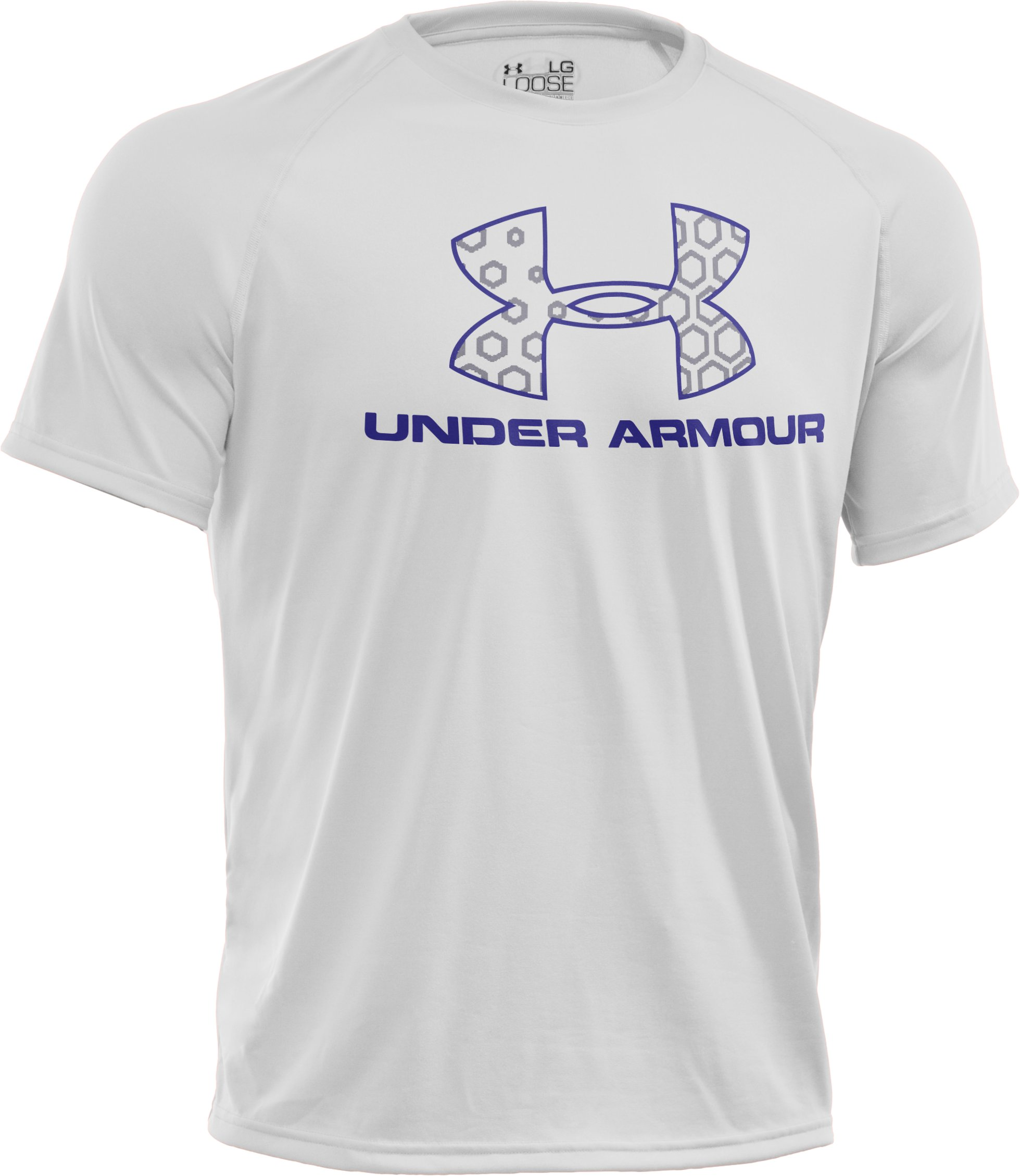 Men's UA Hexi Logo T-Shirt, White