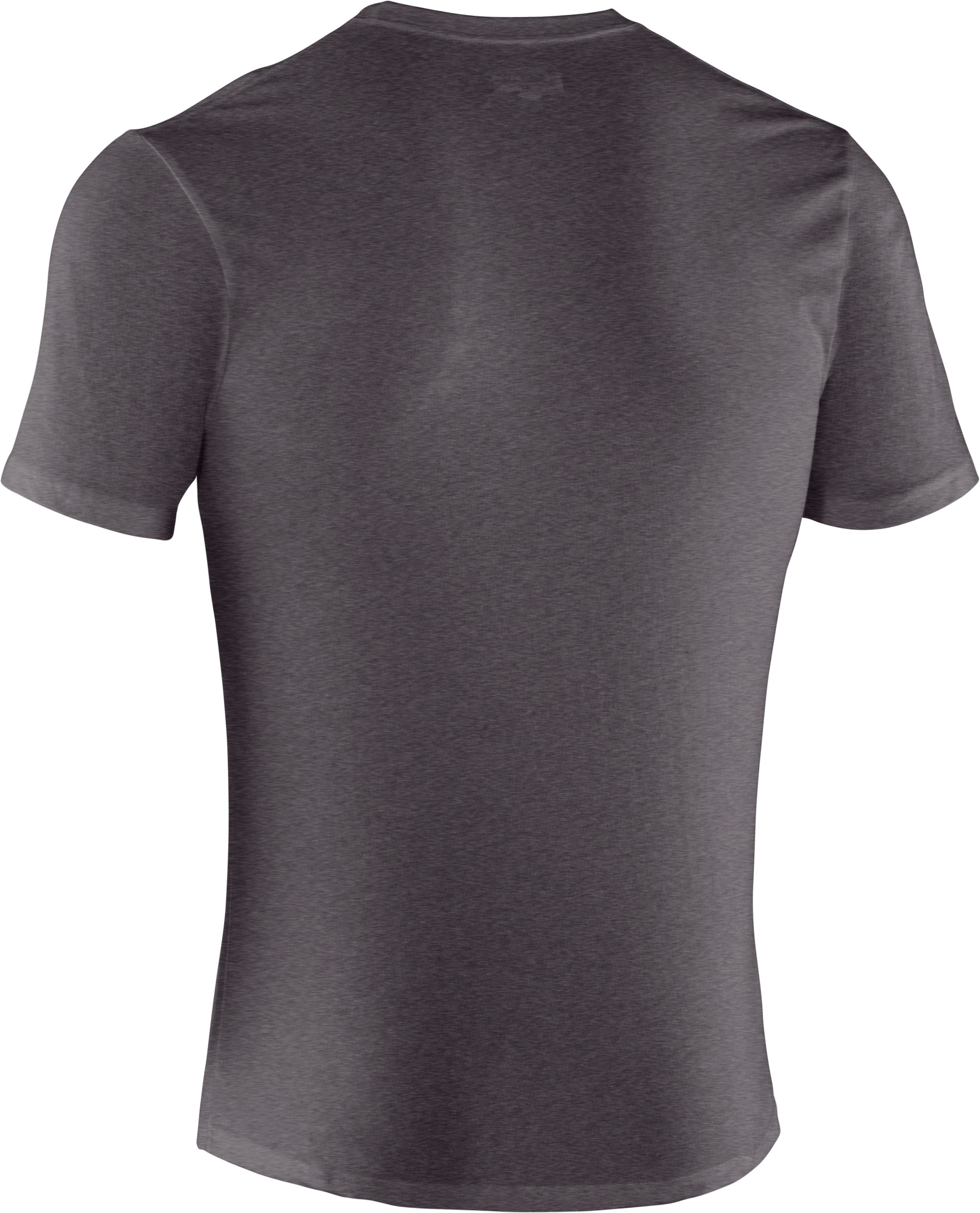 Men's UA Sportstyle III Logo T-Shirt, Carbon Heather, undefined