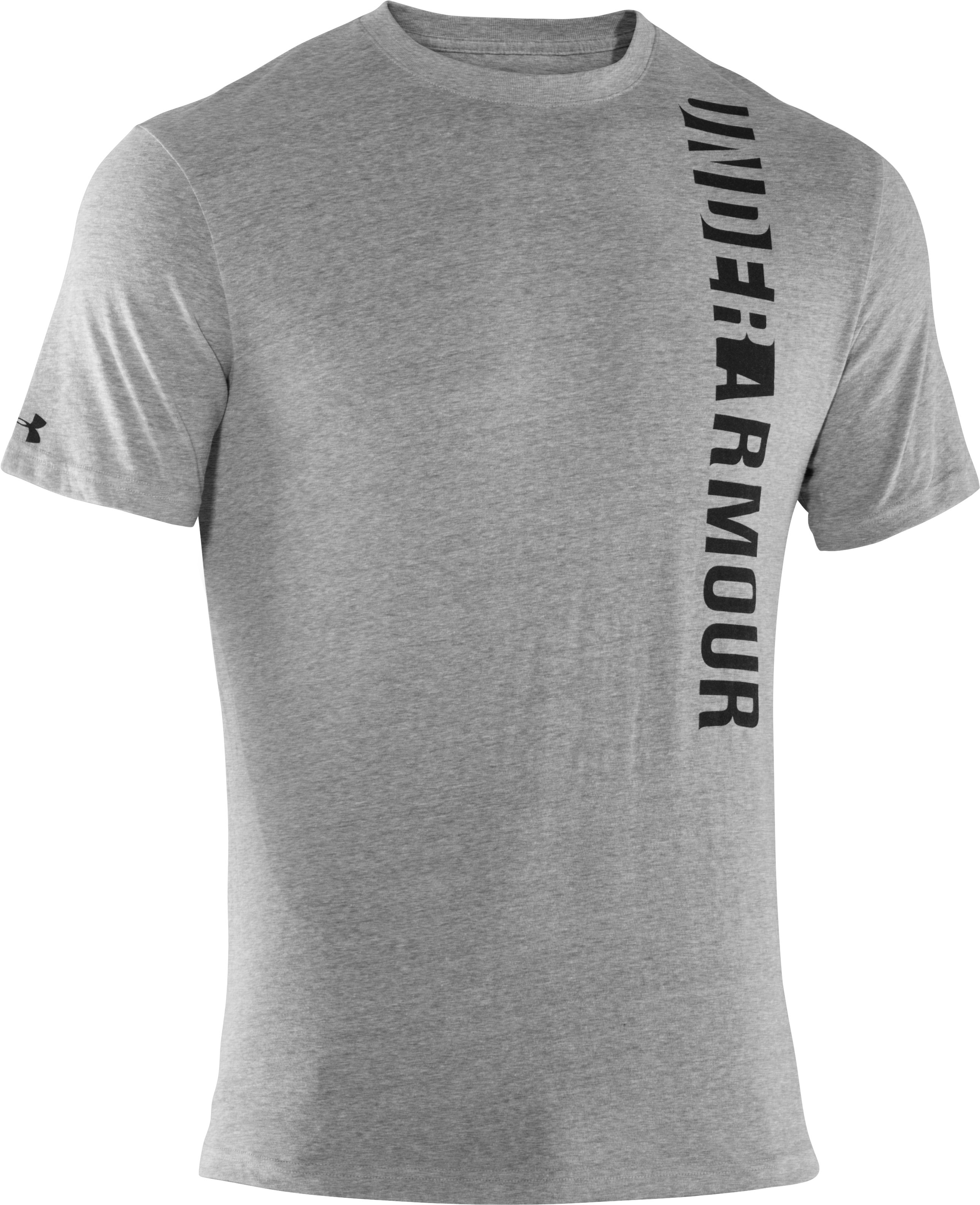 Men's UA Vertmark T-Shirt, True Gray Heather