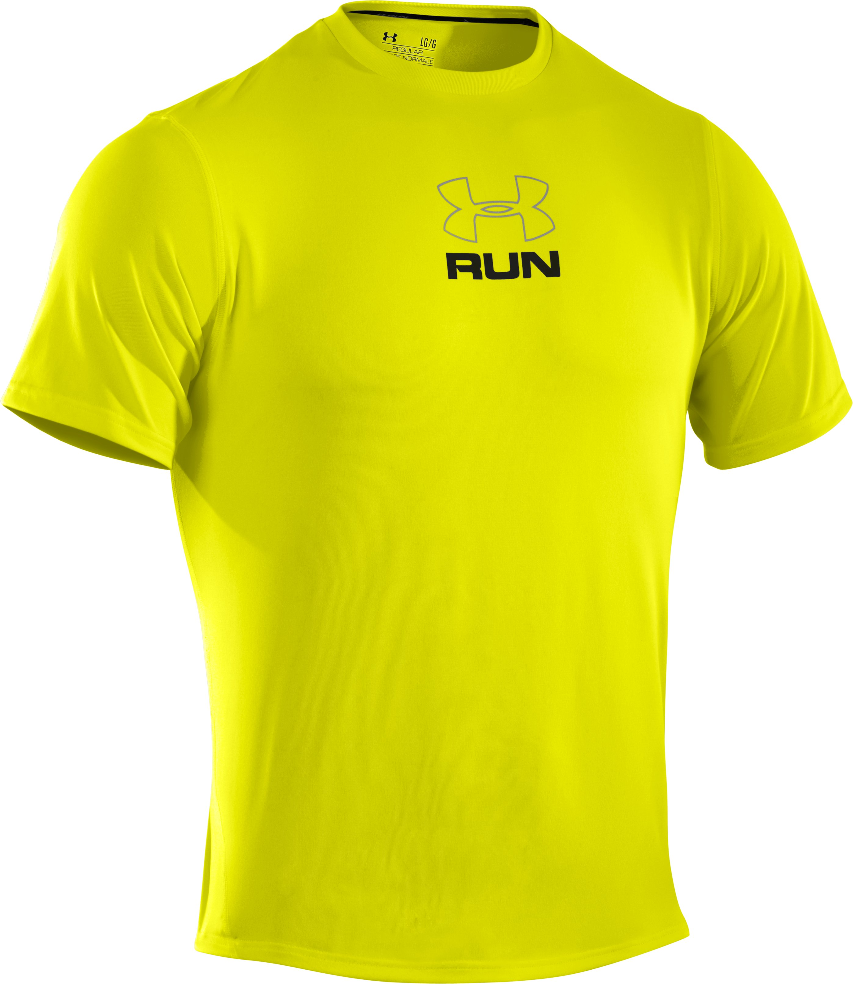 Men's UA Escape T-Shirt, High-Vis Yellow