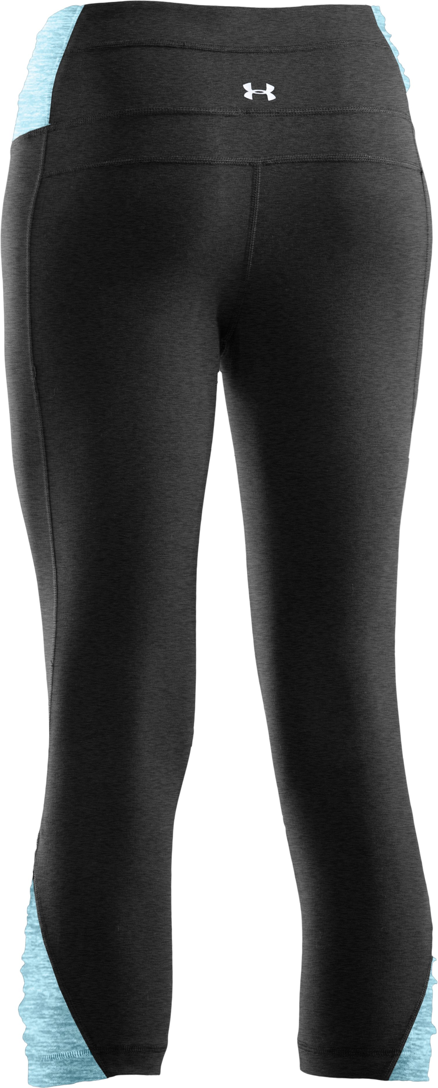 Women's Gather N' Give Capri, Asphalt Heather, undefined