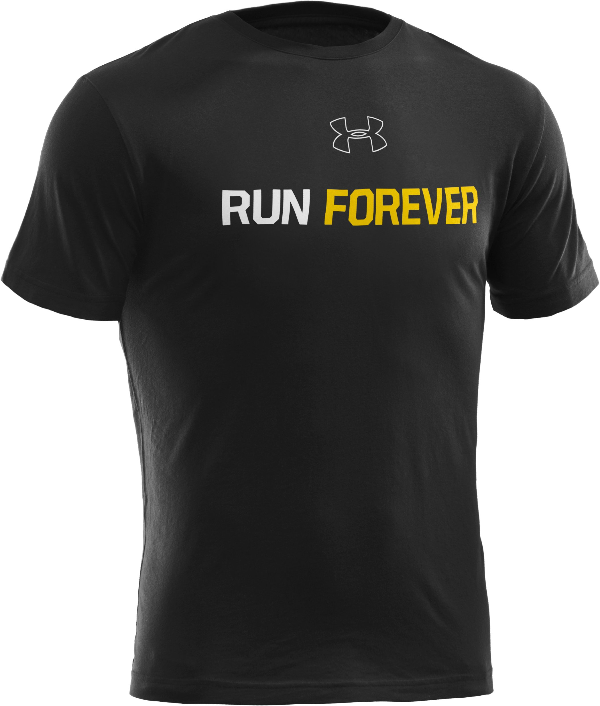 Men's UA Run Forever T-Shirt, Black
