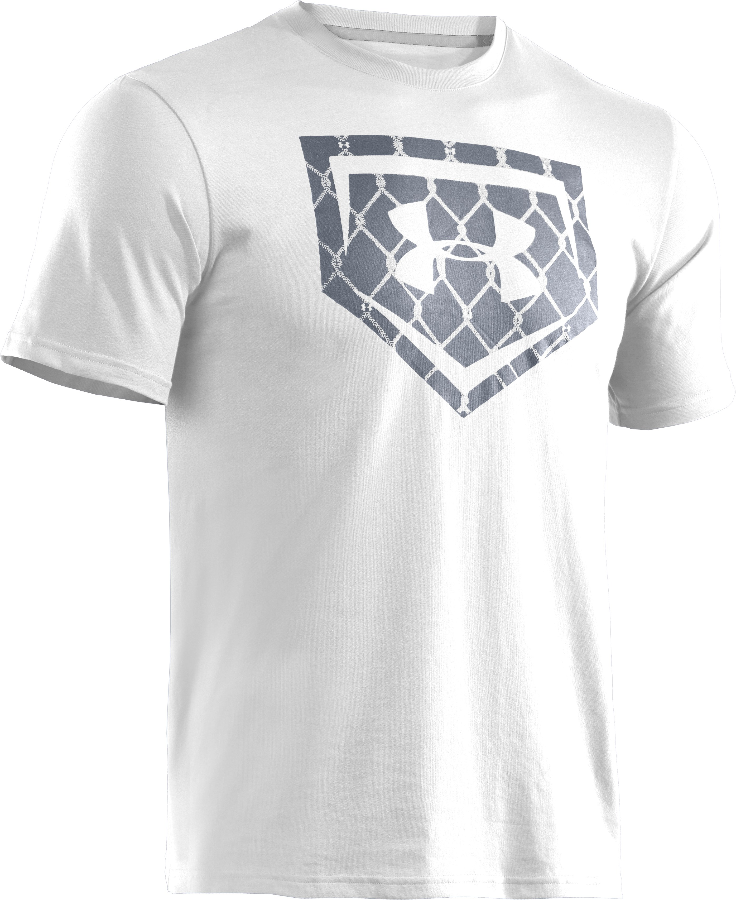 Men's UA Chain Link Icon T-Shirt, White, undefined