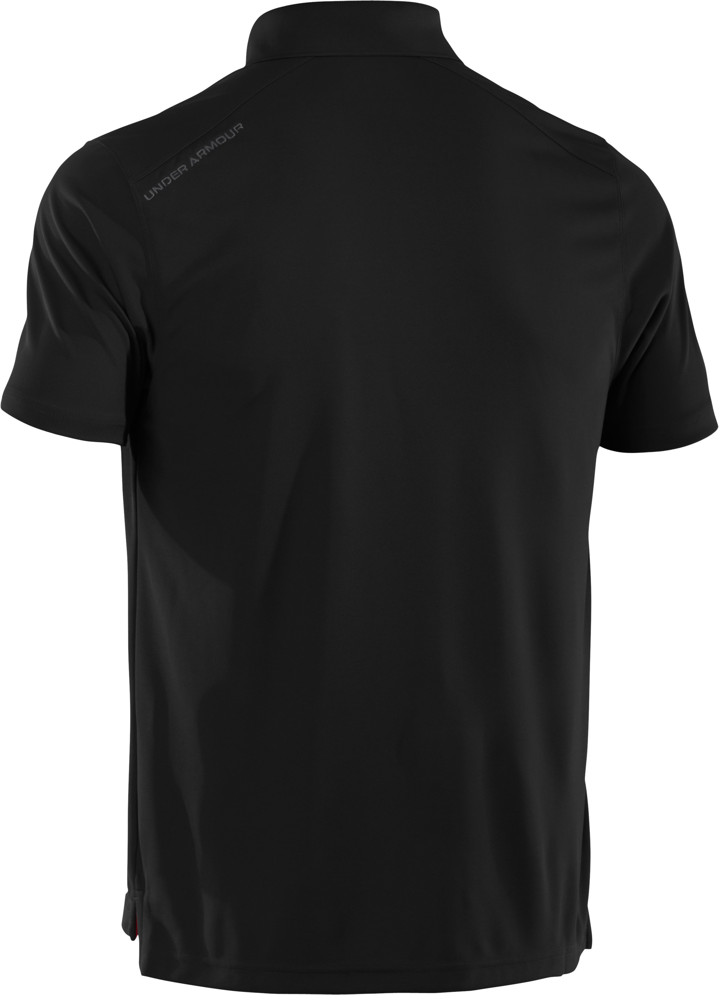 Men's UA Fade Solid Pique Polo 3.0, Black