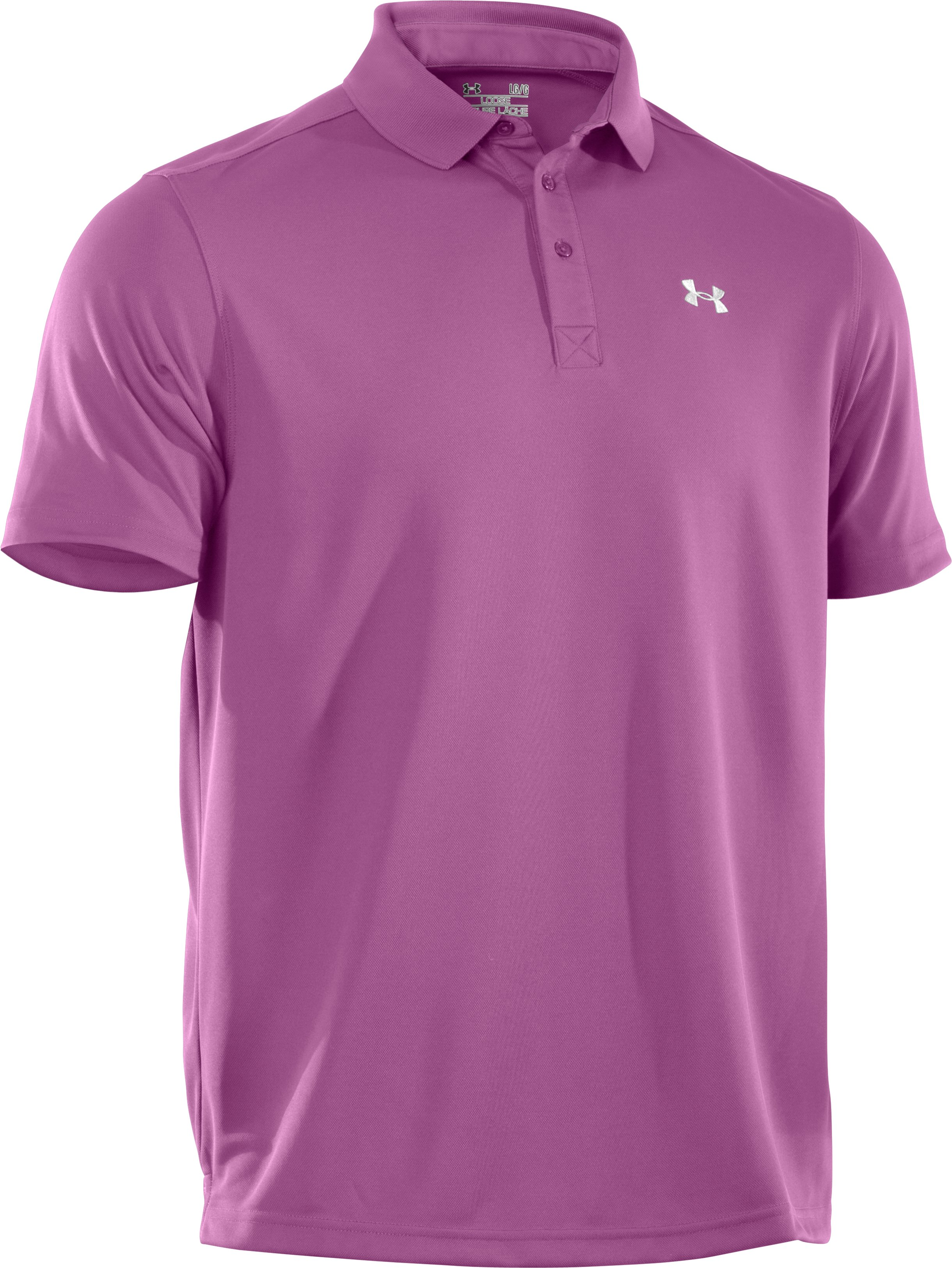 Men's UA Fade Solid Pique Polo 3.0, Jellyfish