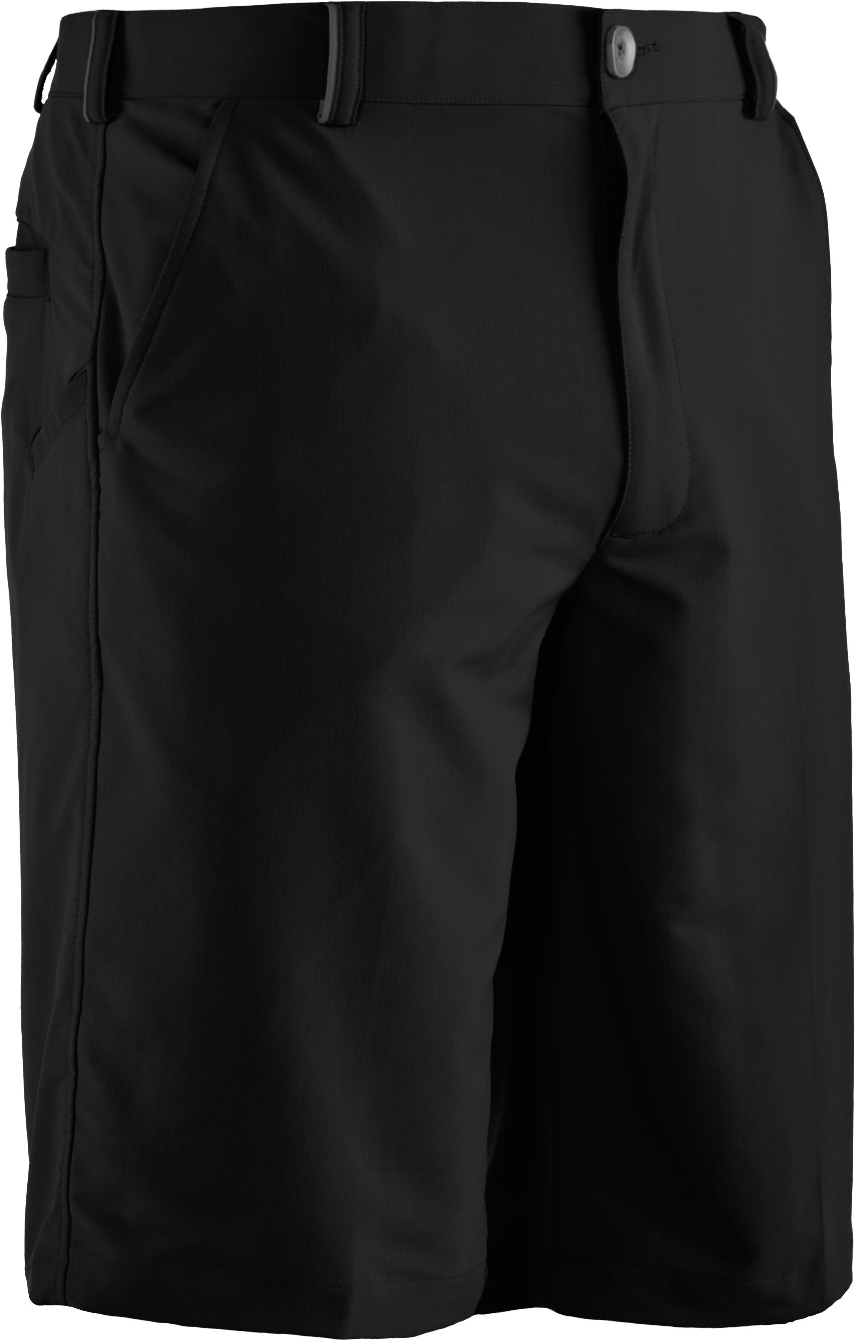 Men's UA Bent Grass Golf Shorts, Black