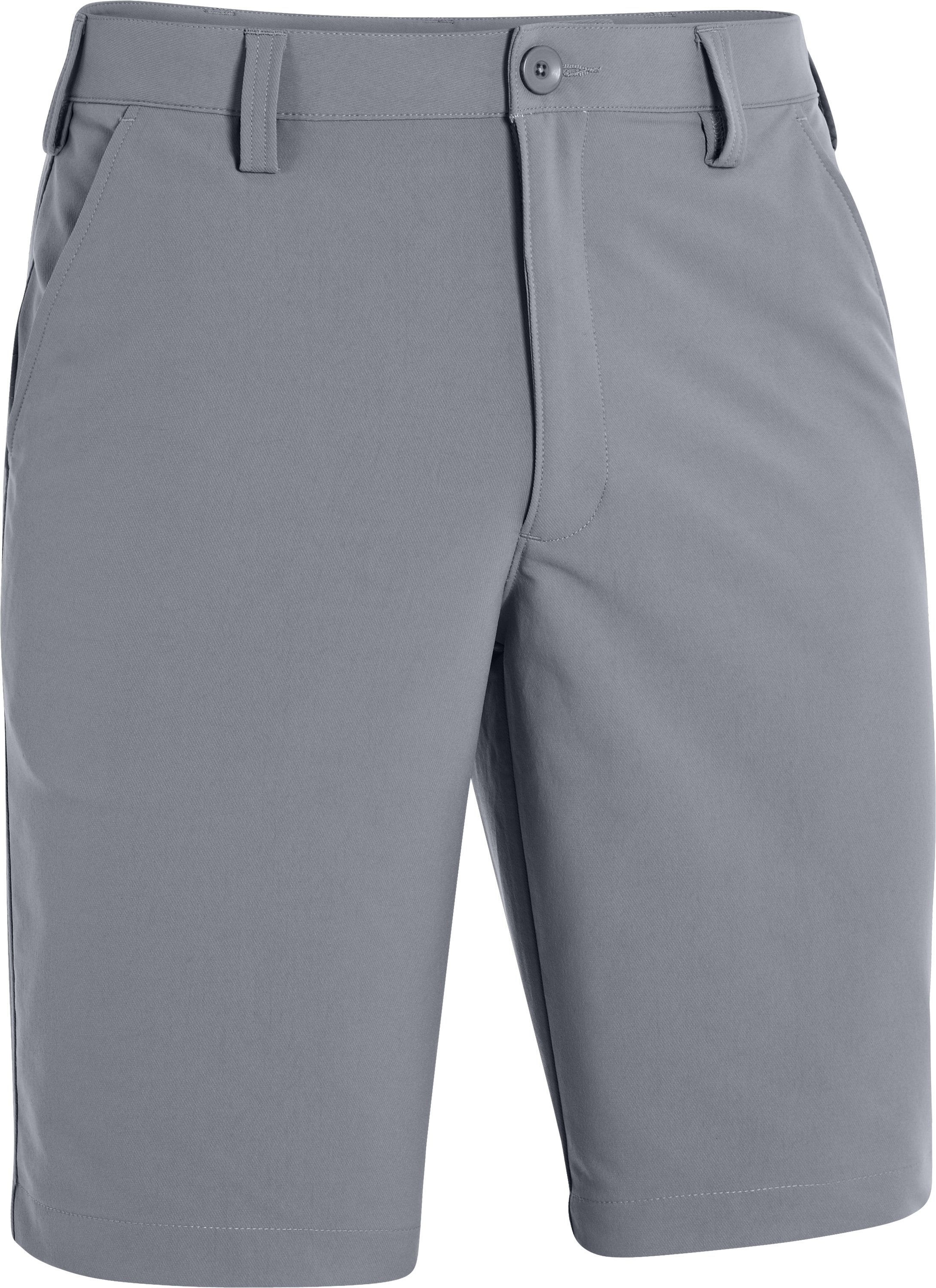 Men's UA Bent Grass Golf Shorts, Steel