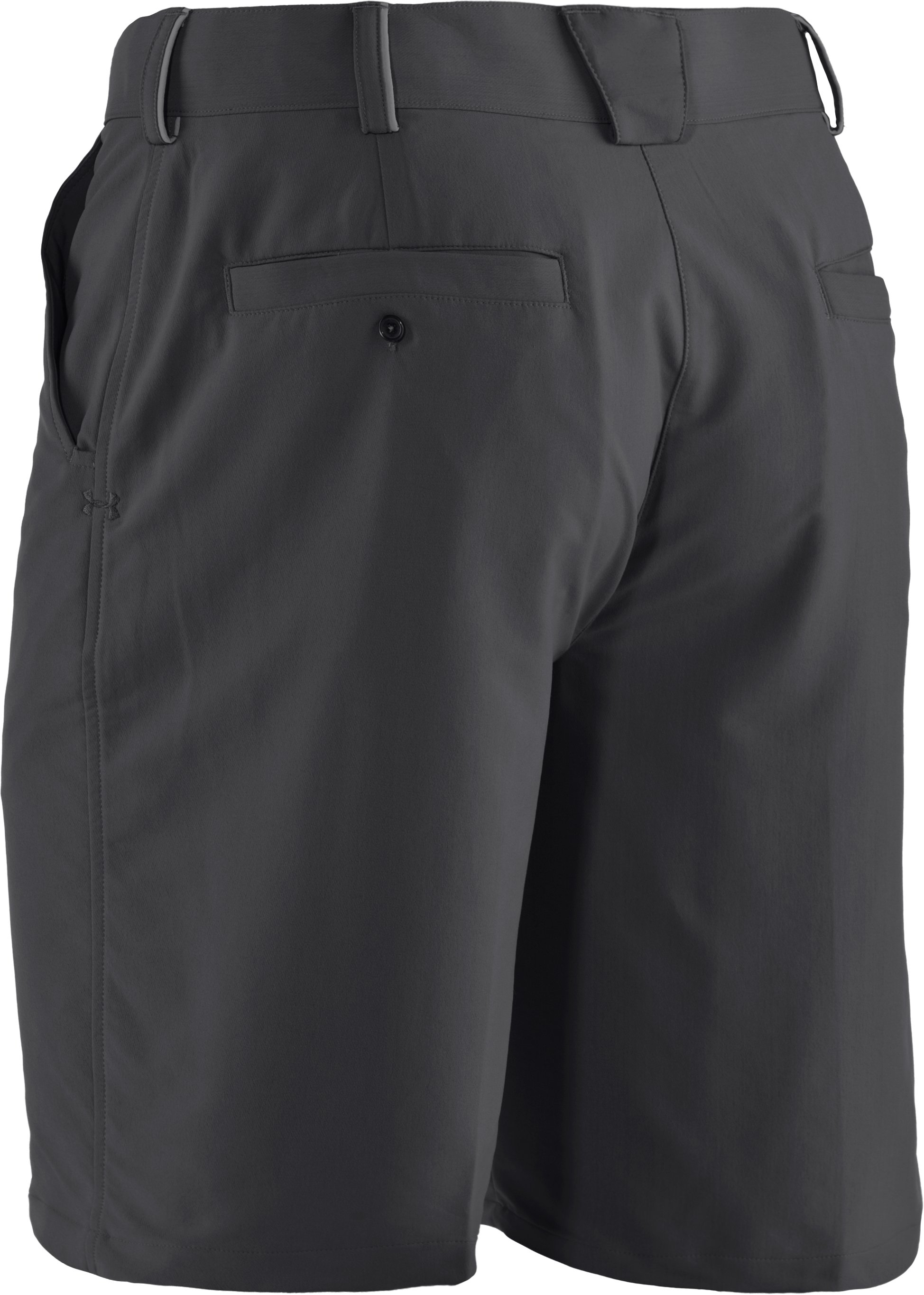 Men's UA Bent Grass Golf Shorts, Graphite
