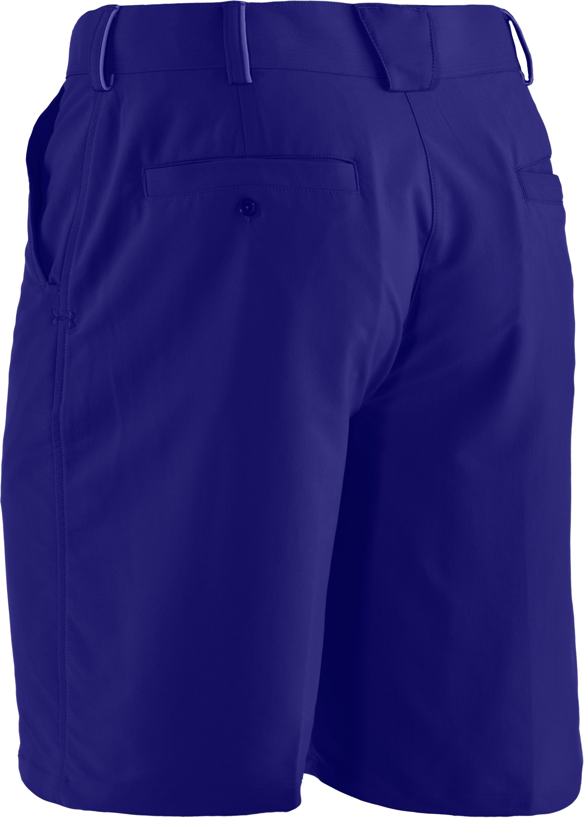 Men's UA Bent Grass Shorts, Caspian, undefined