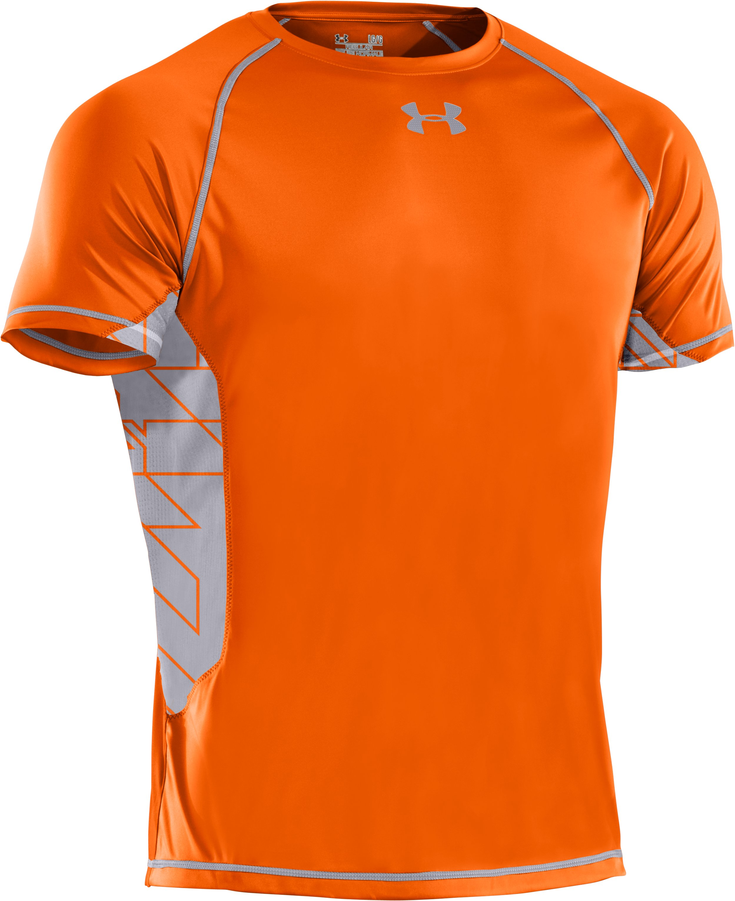 Men's HeatGear® Flyweight Short Sleeve, Vivid