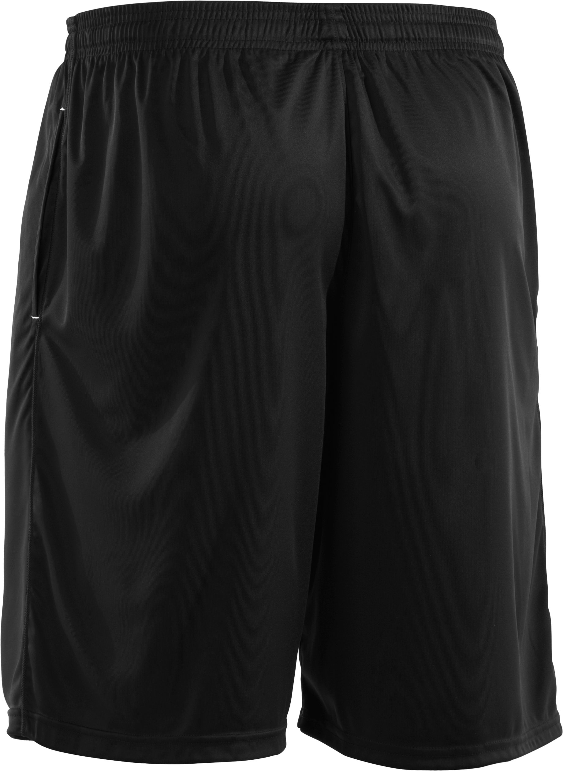 Men's UA Micro Solid Shorts, Black ,