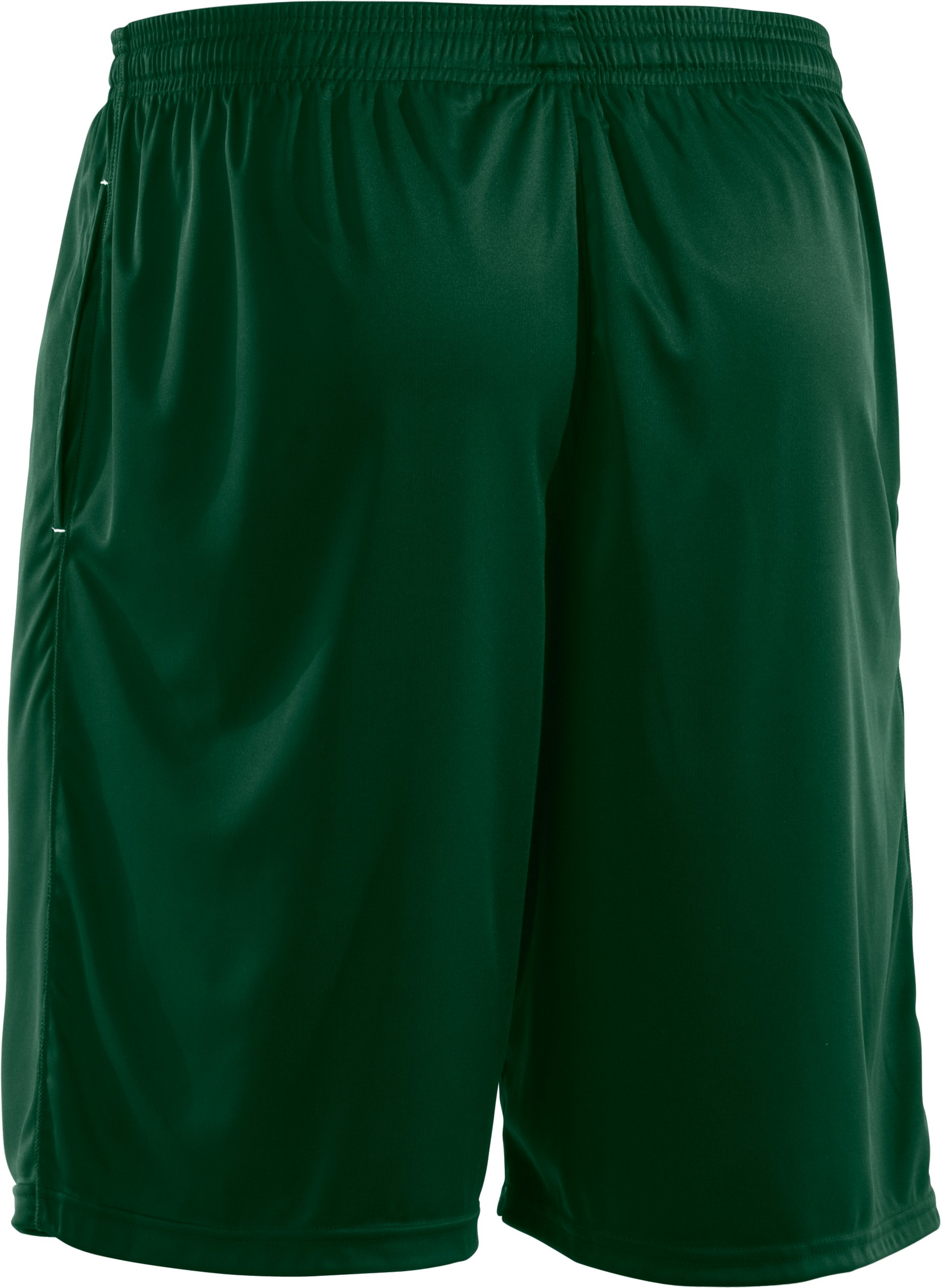 Men's UA Micro Solid Shorts, Forest Green,