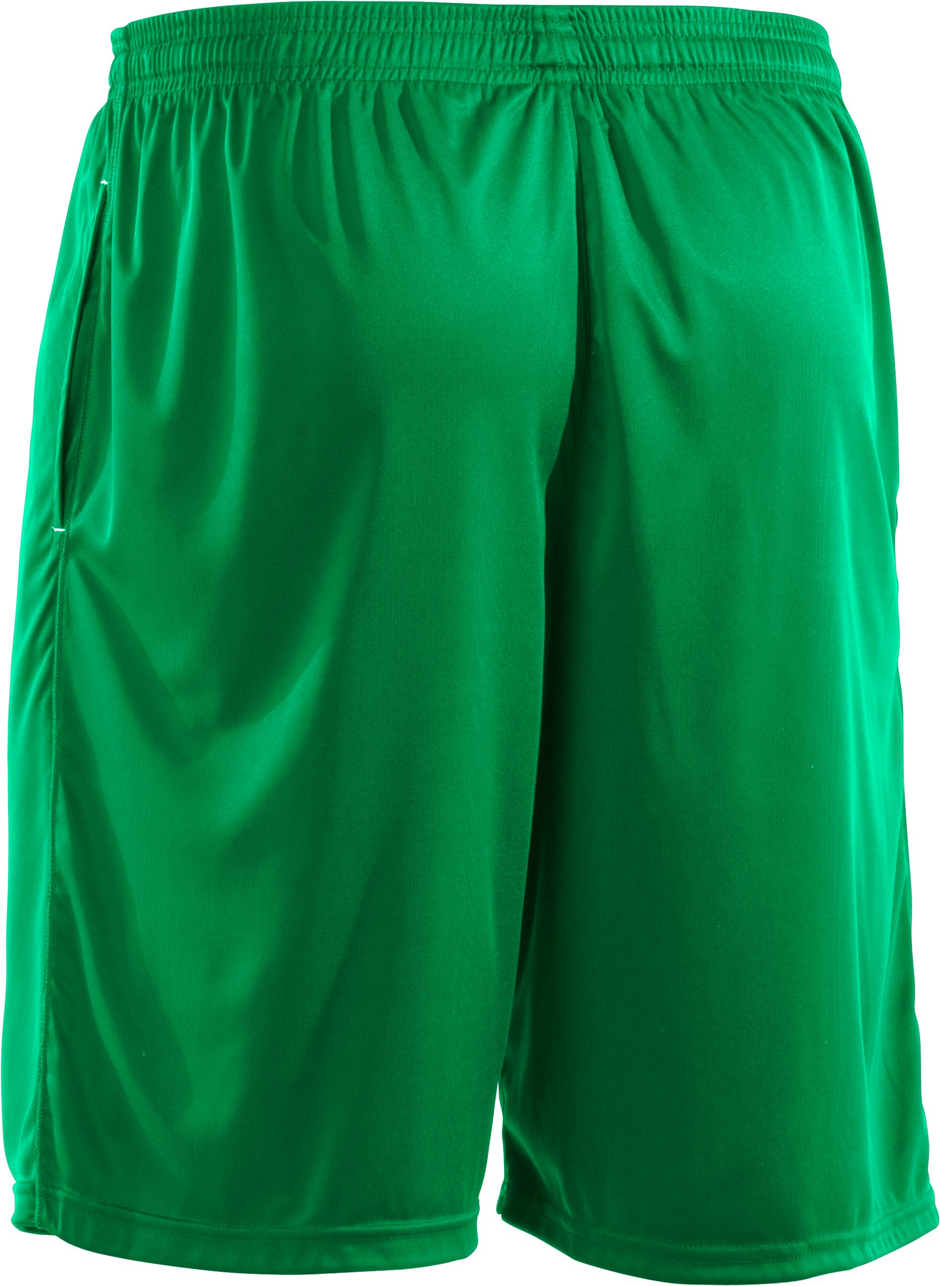 Men's UA Micro Solid Shorts, ASTRO GREEN, undefined
