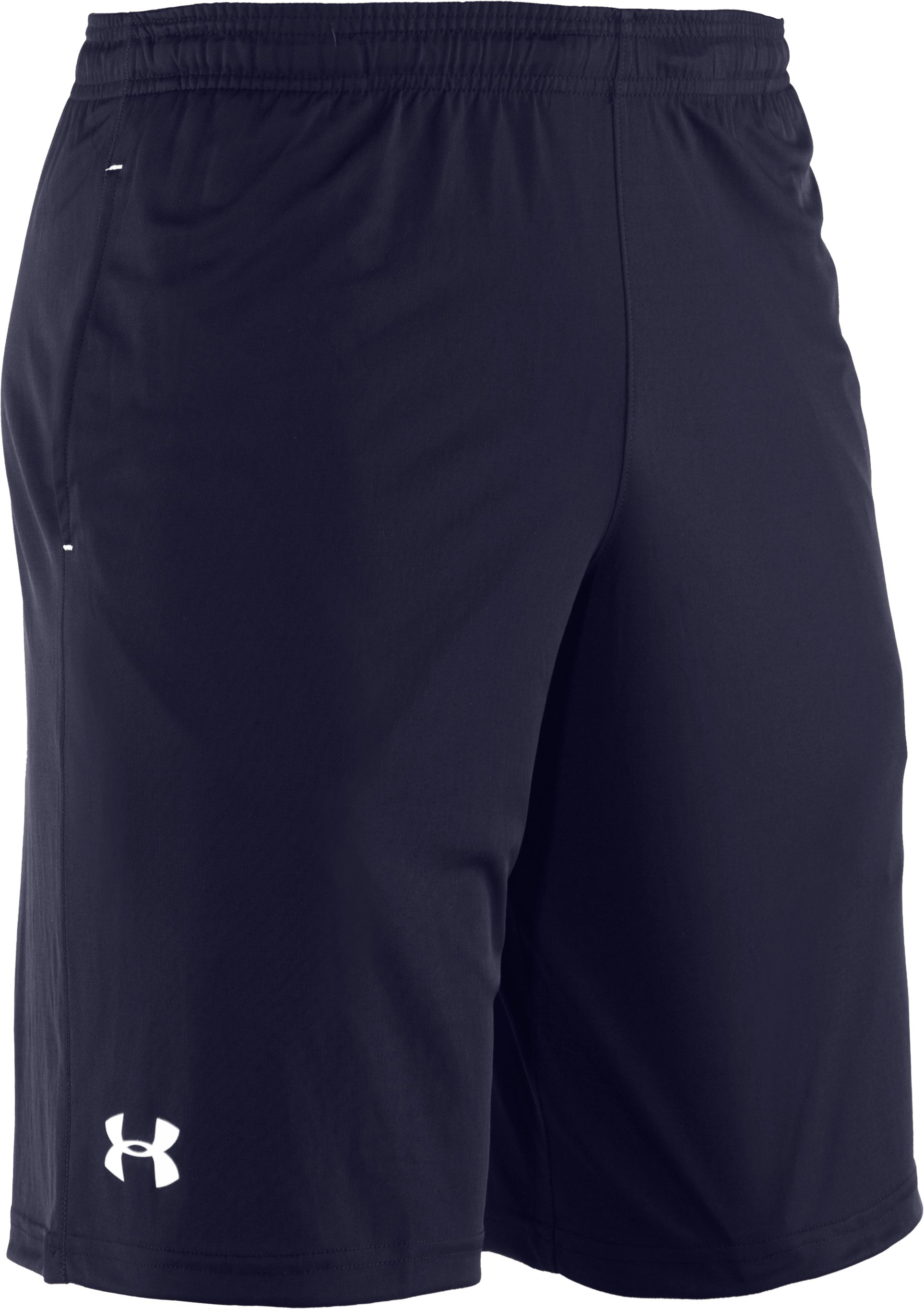 Men's UA Micro Solid Shorts, Midnight Navy, undefined