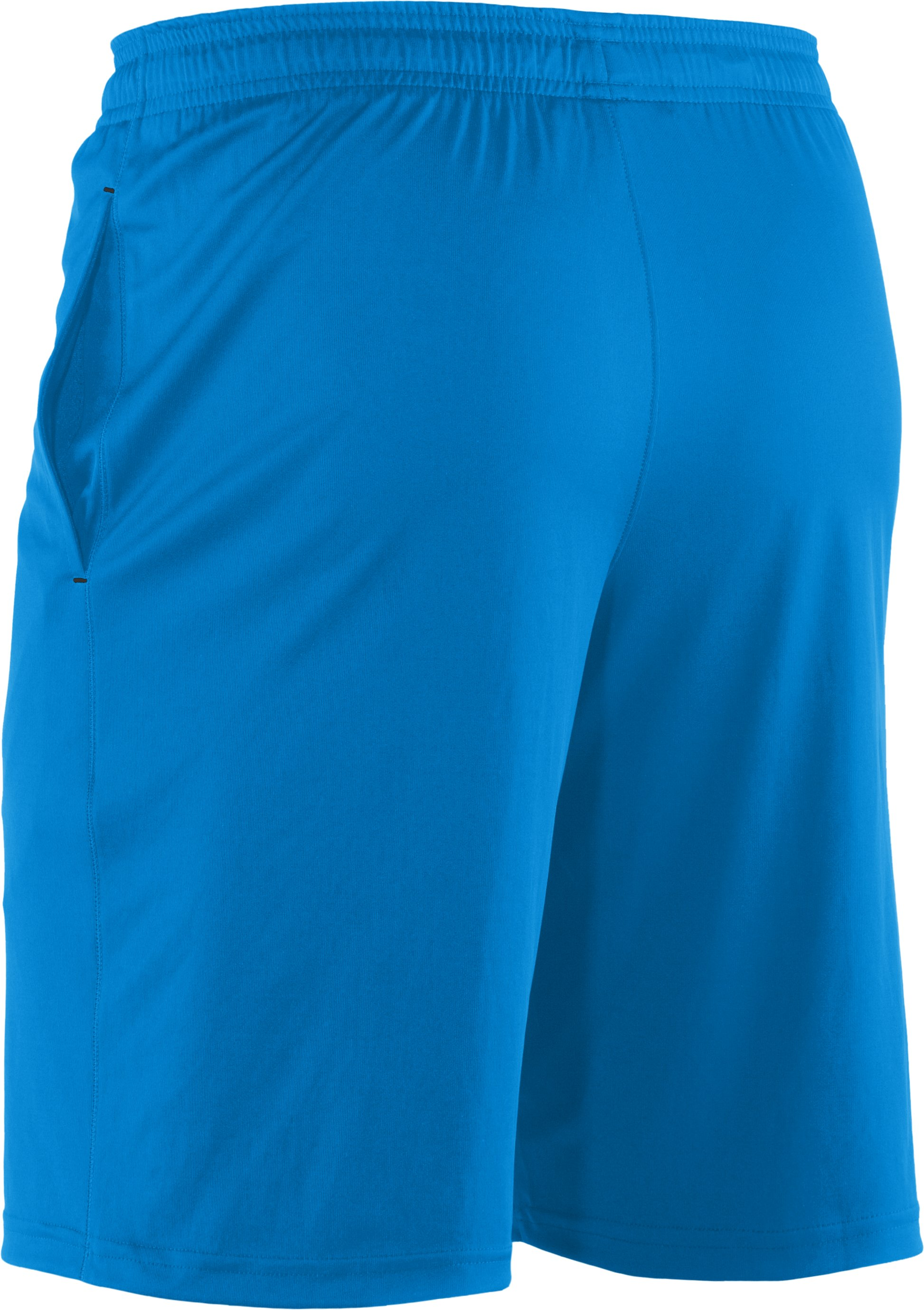 Men's UA Micro Solid Shorts, ELECTRIC BLUE,