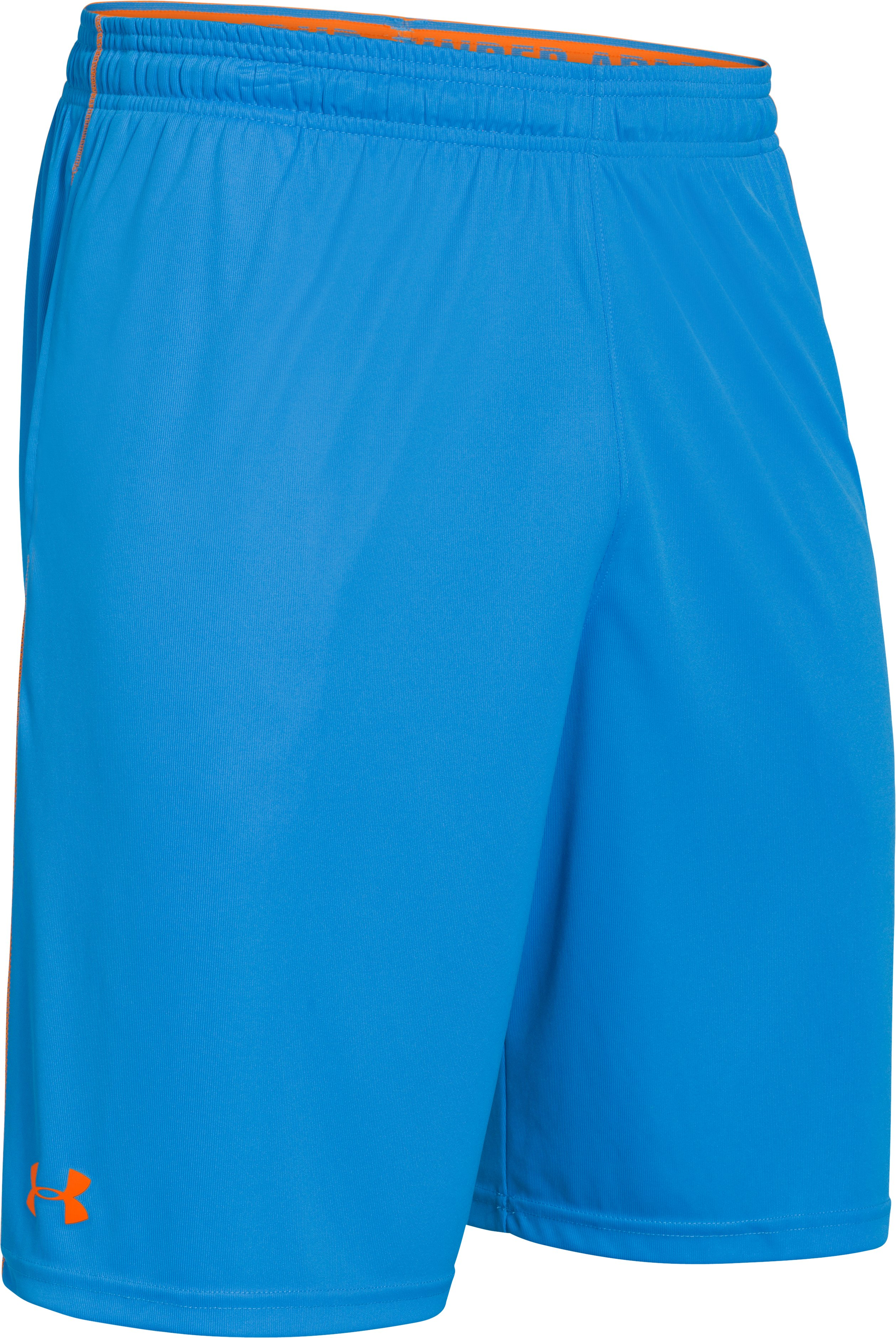 Men's UA Micro Solid Shorts, ELECTRIC BLUE