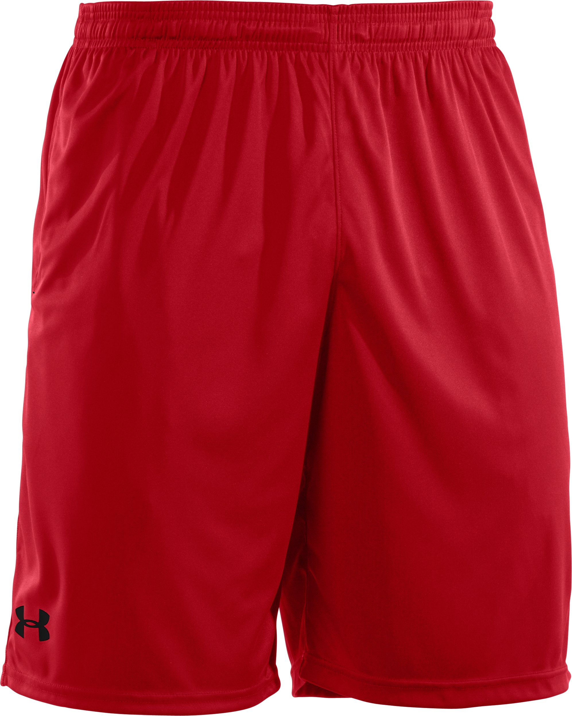 Men's UA Micro Solid Shorts, Red, undefined