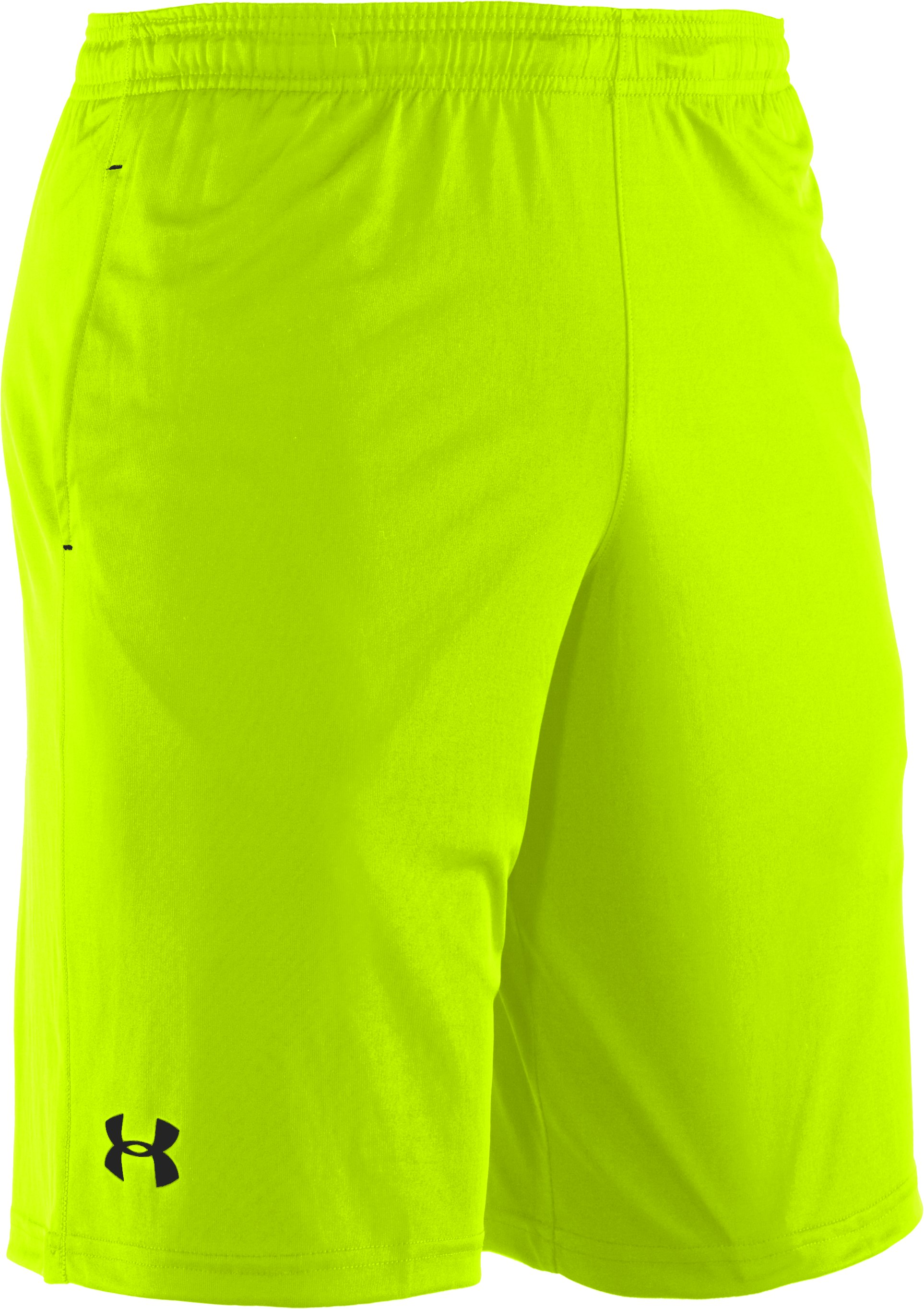 Men's UA Micro Solid Shorts, High-Vis Yellow