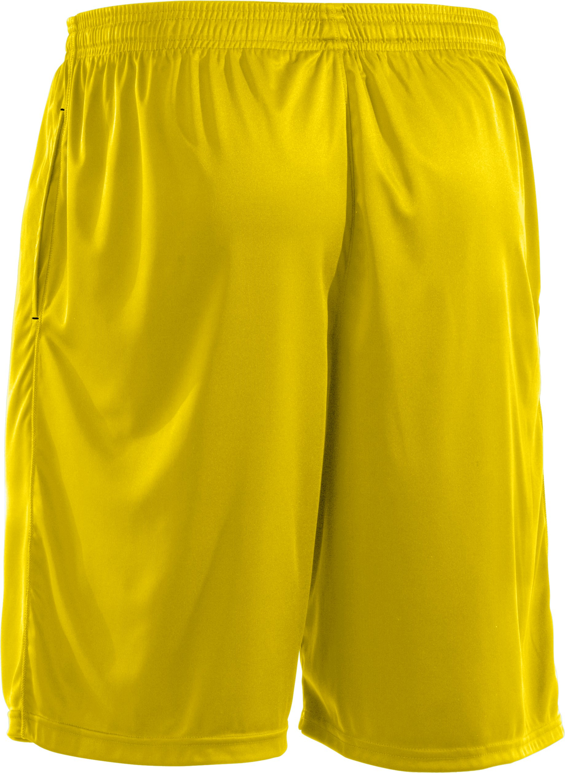 Men's UA Micro Solid Shorts, Solar