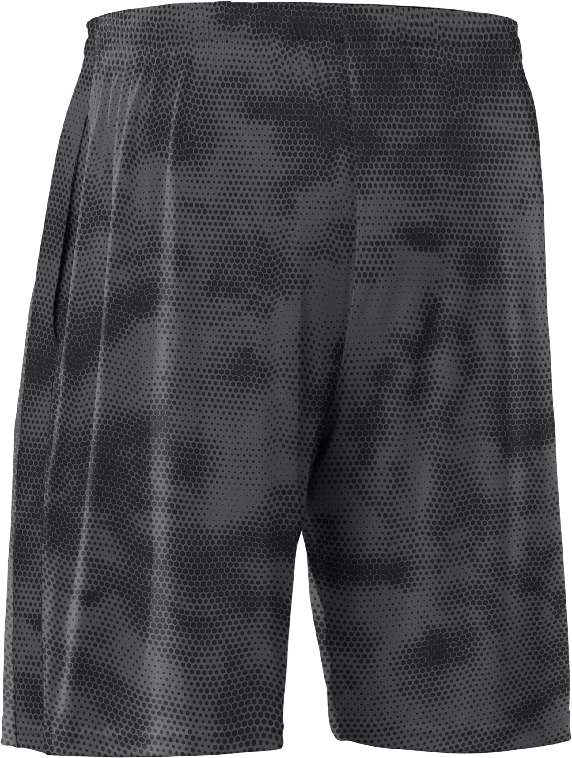 Men's UA Micro Printed Shorts, Graphite
