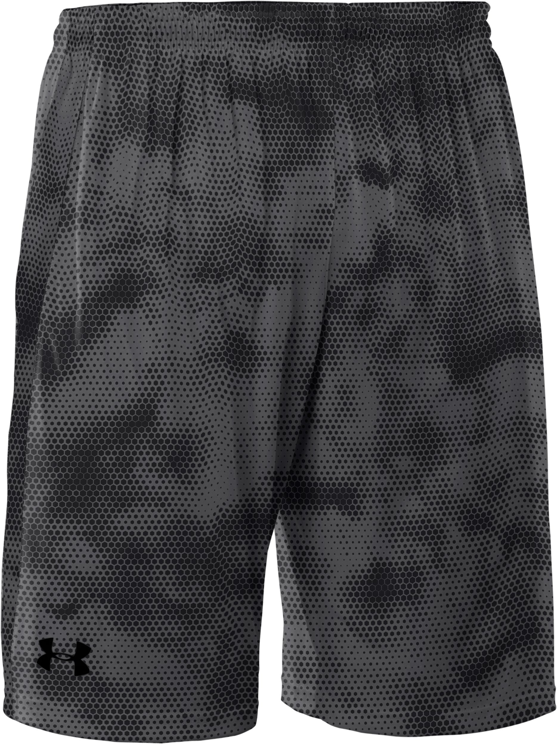 Men's UA Micro Printed Shorts, Graphite, undefined