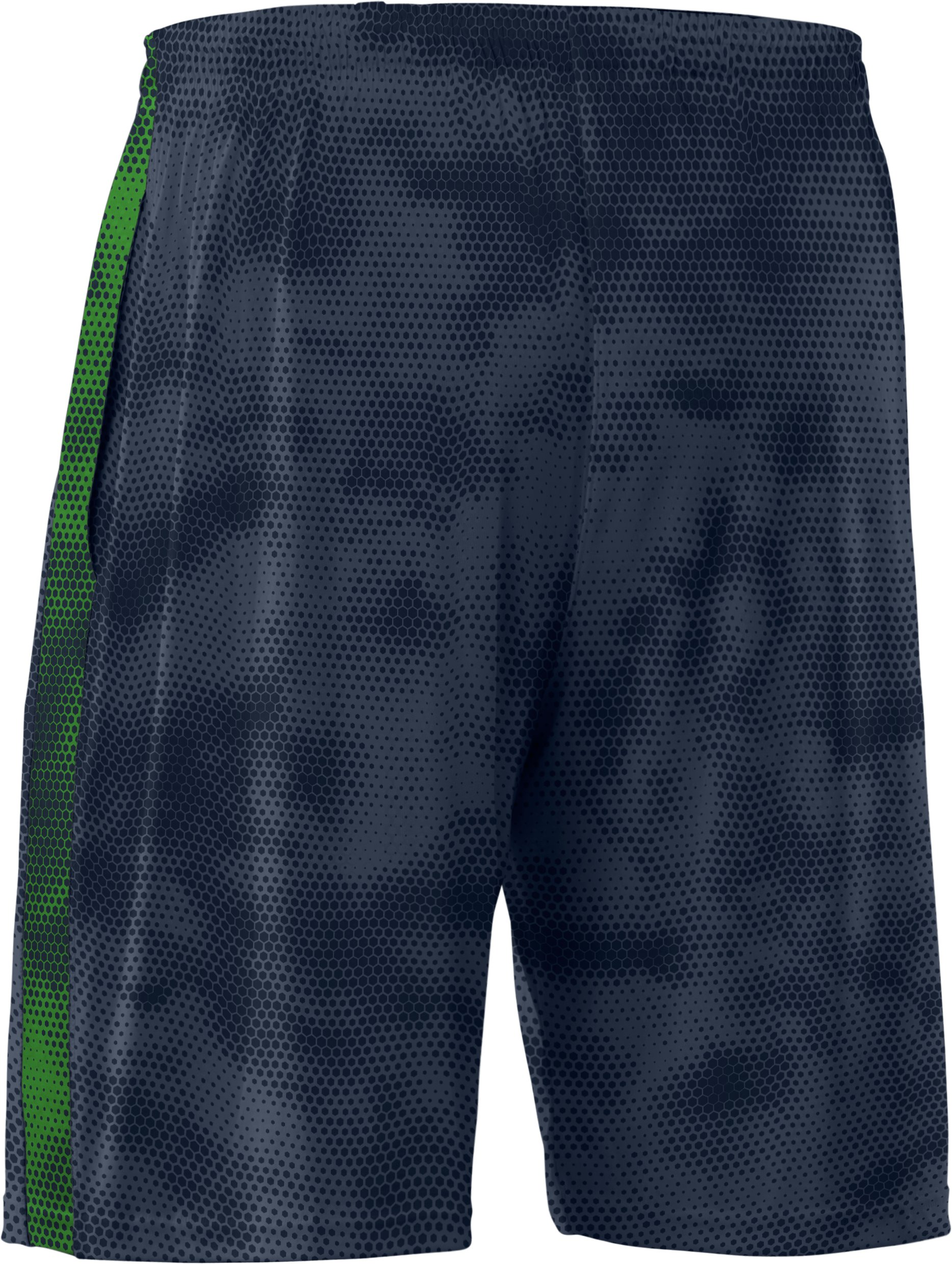 Men's UA Micro Printed Shorts, Wire