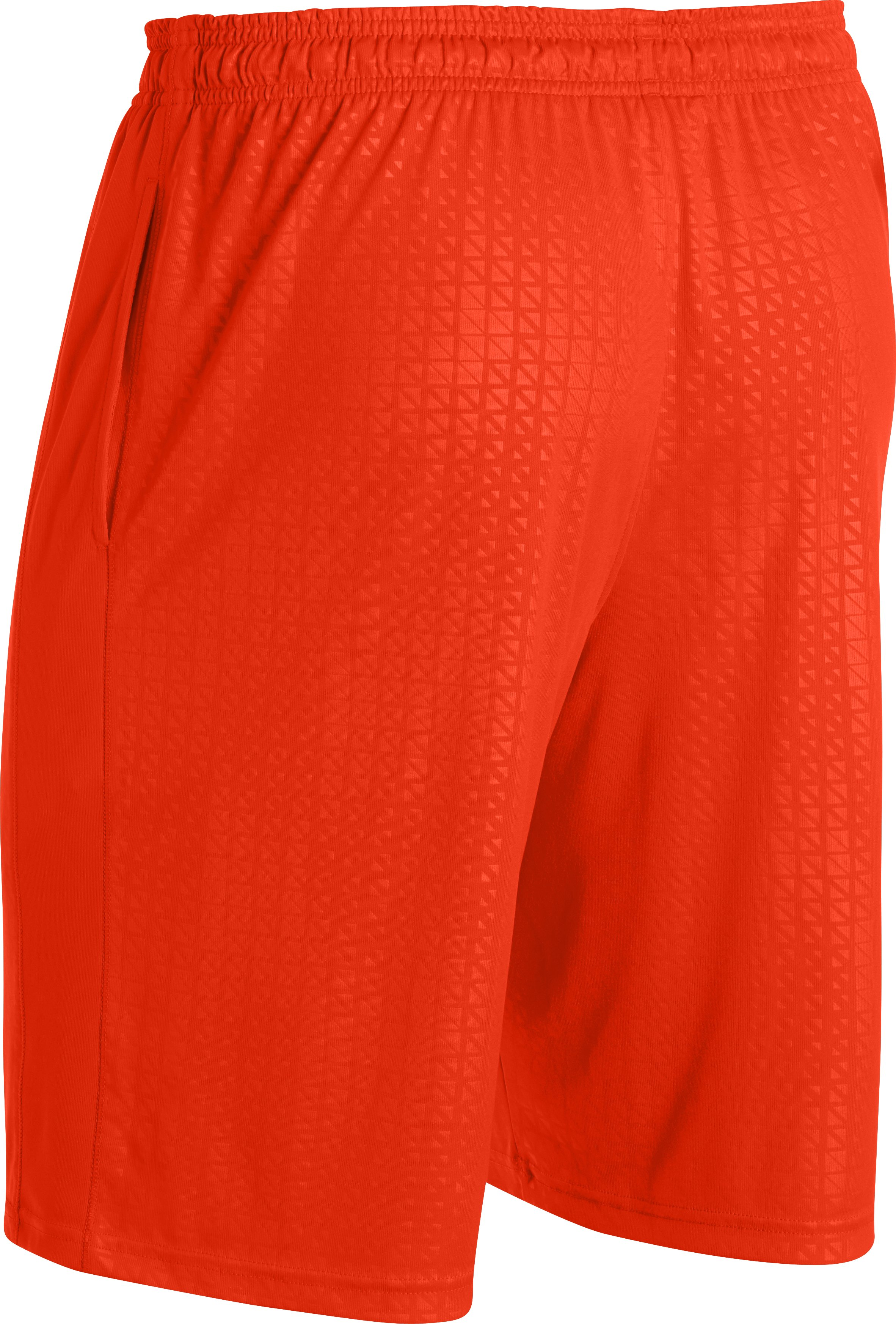 Men's UA Micro Printed Shorts, Volcano, undefined