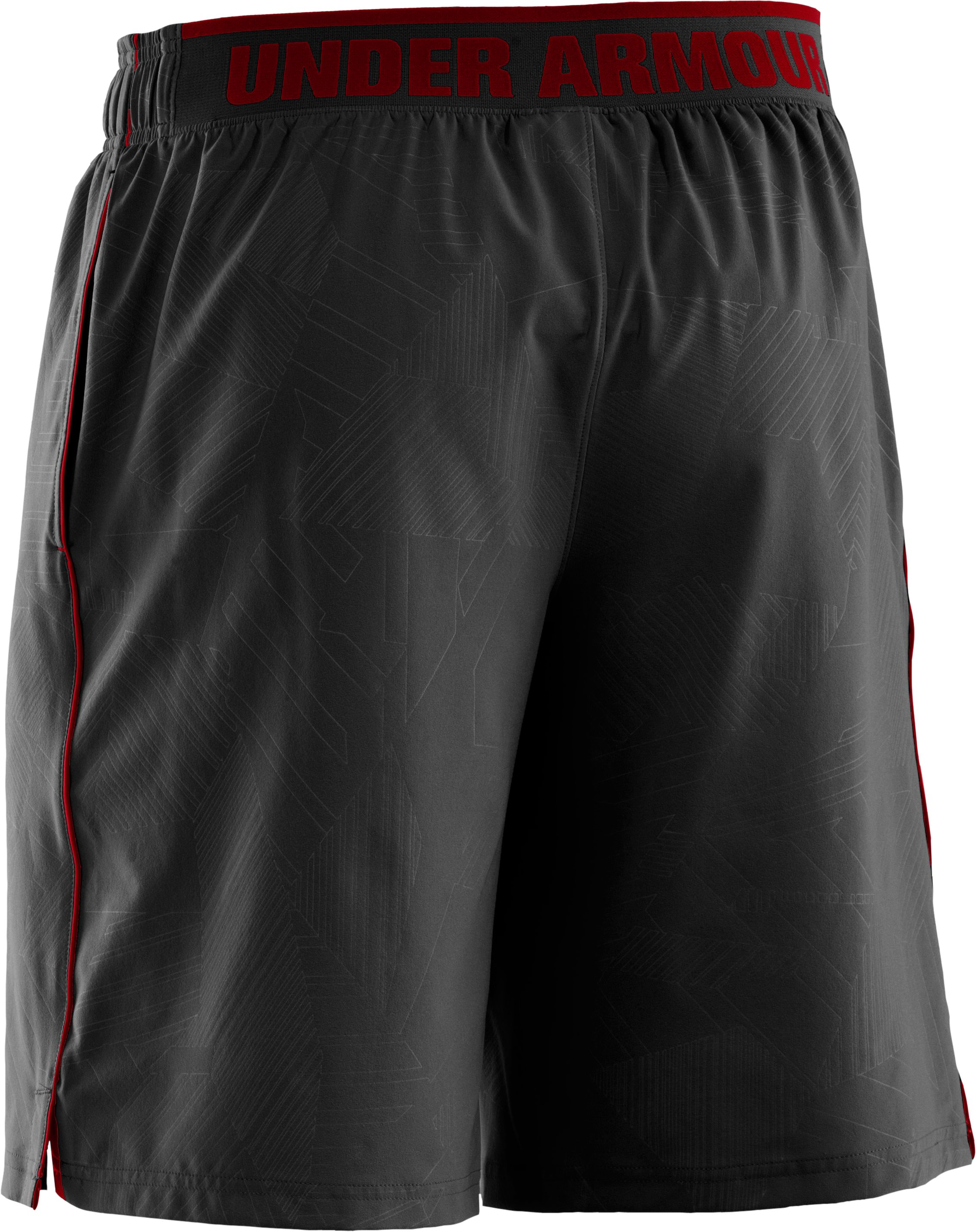 "Men's UA Mirage Printed 10"" Shorts, Black ,"