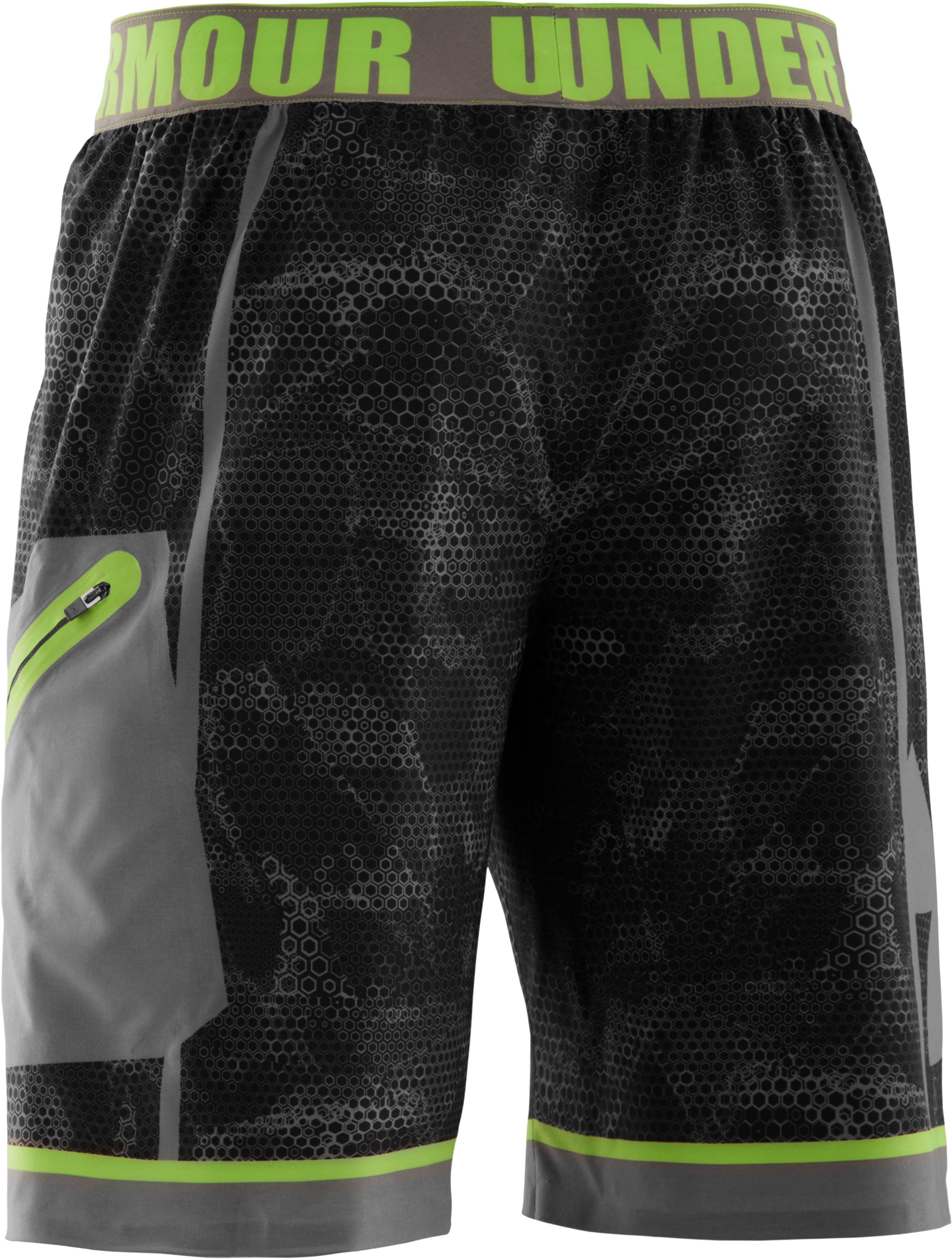 Men's UA Combine® Training Redline Shorts, Black , undefined