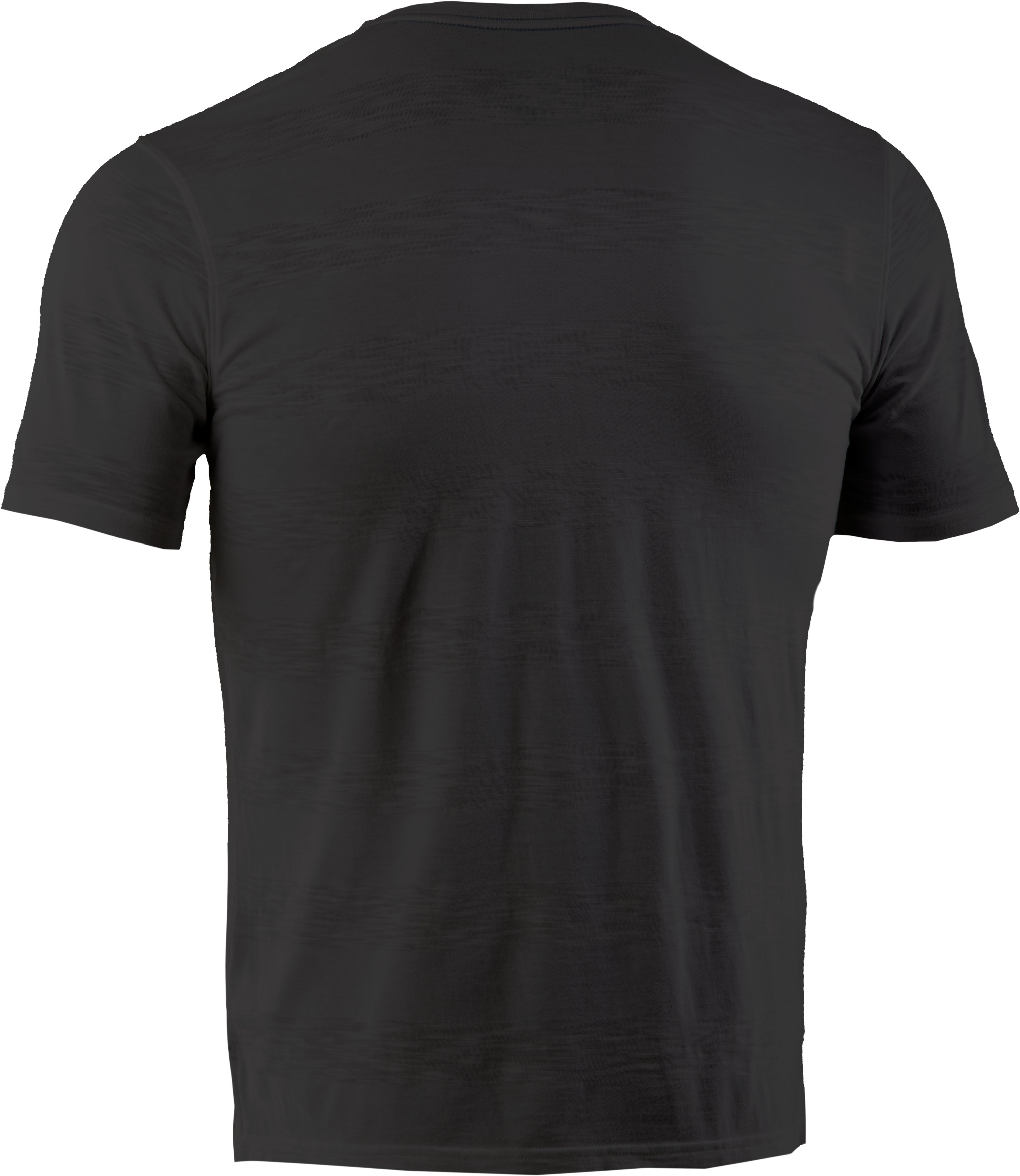 Men's UA Slub Stripe T-Shirt, Black