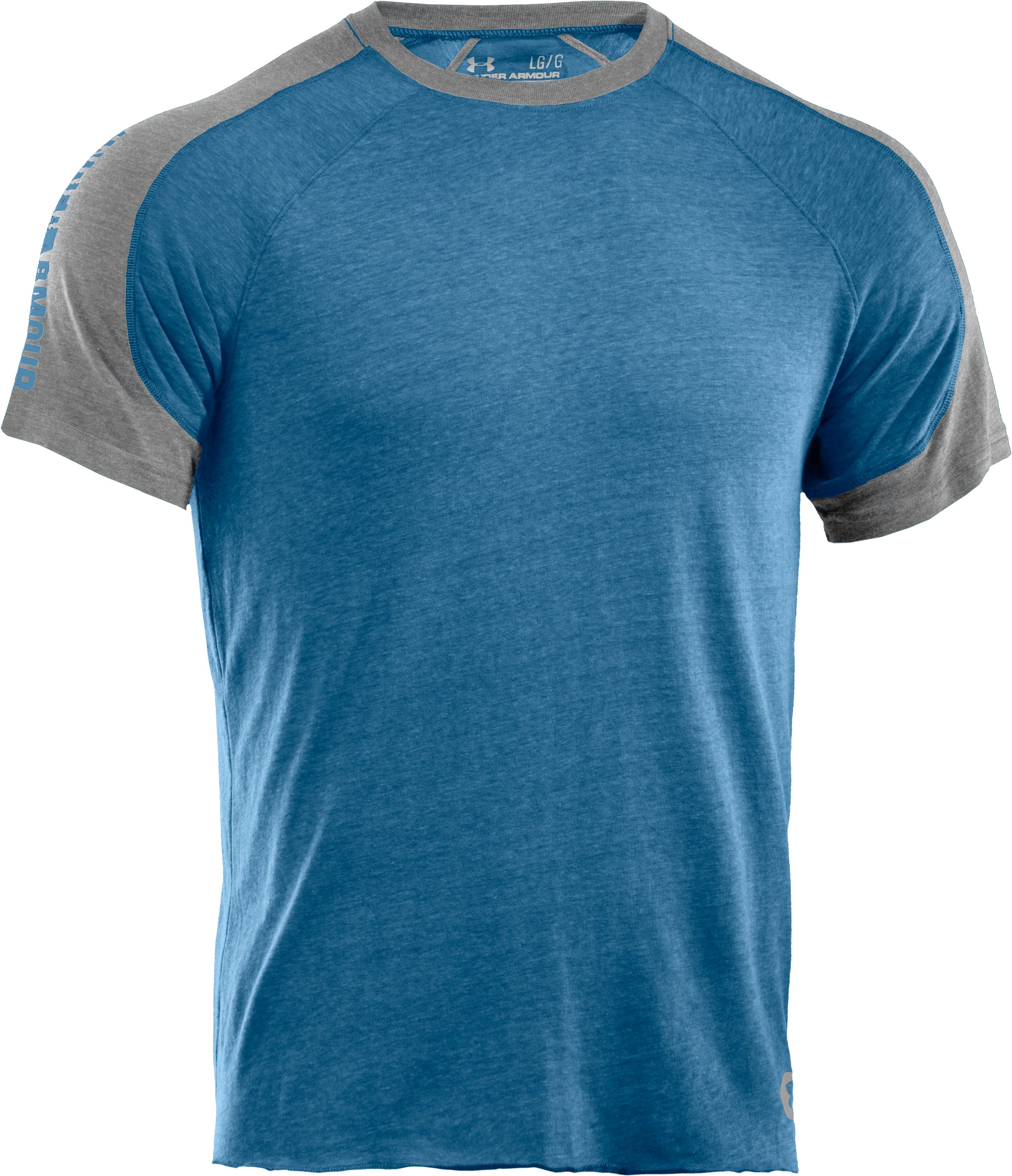 Men's Charged Cotton® Contender T-Shirt, Water,