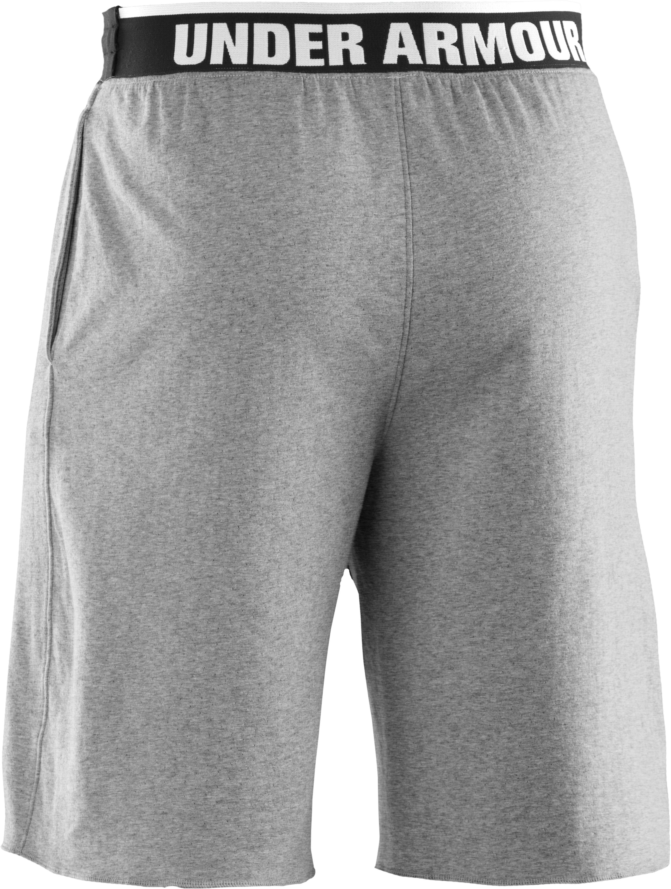 Men's Charged Cotton® Contender Shorts, True Gray Heather