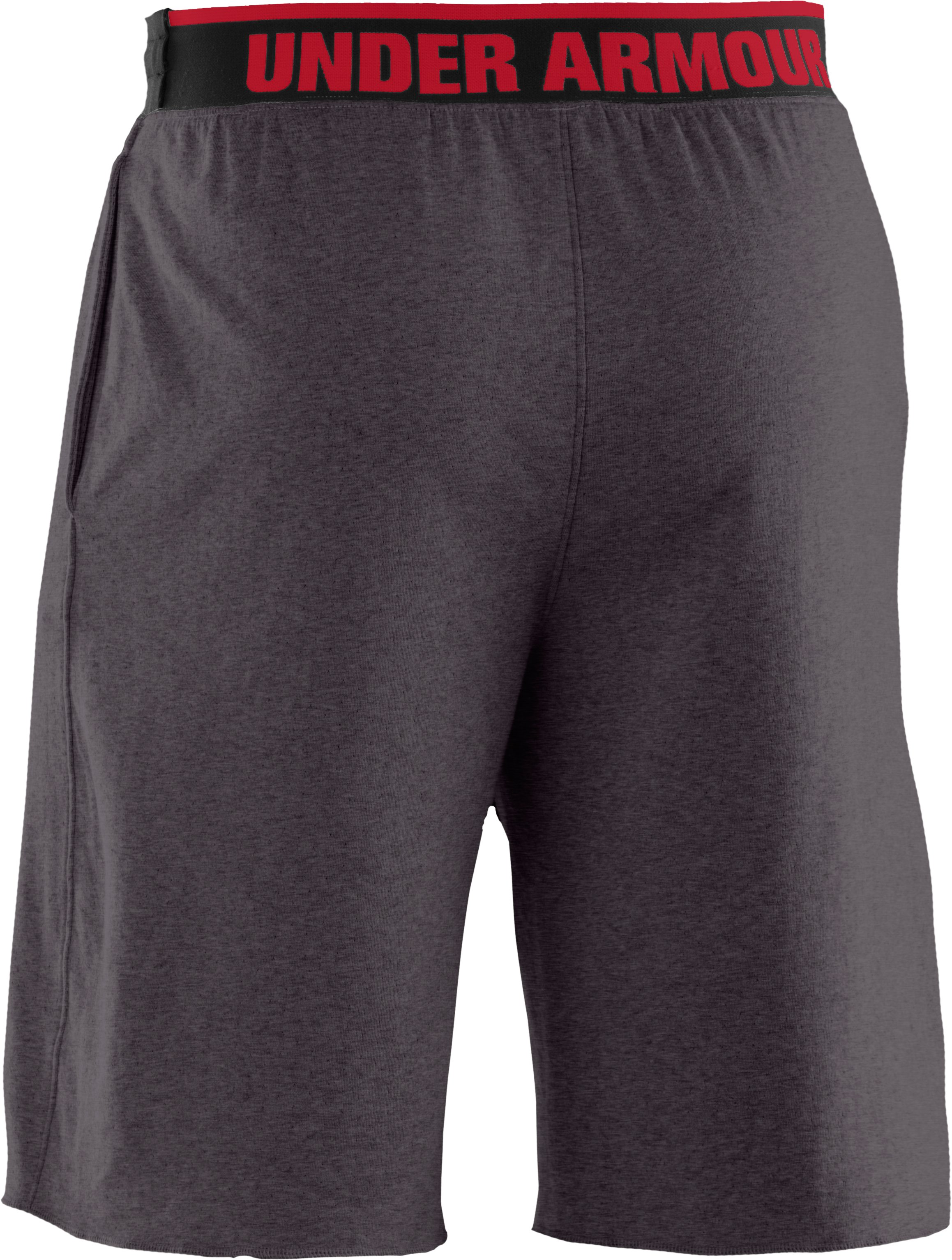 Men's Charged Cotton® Contender Shorts, Carbon Heather