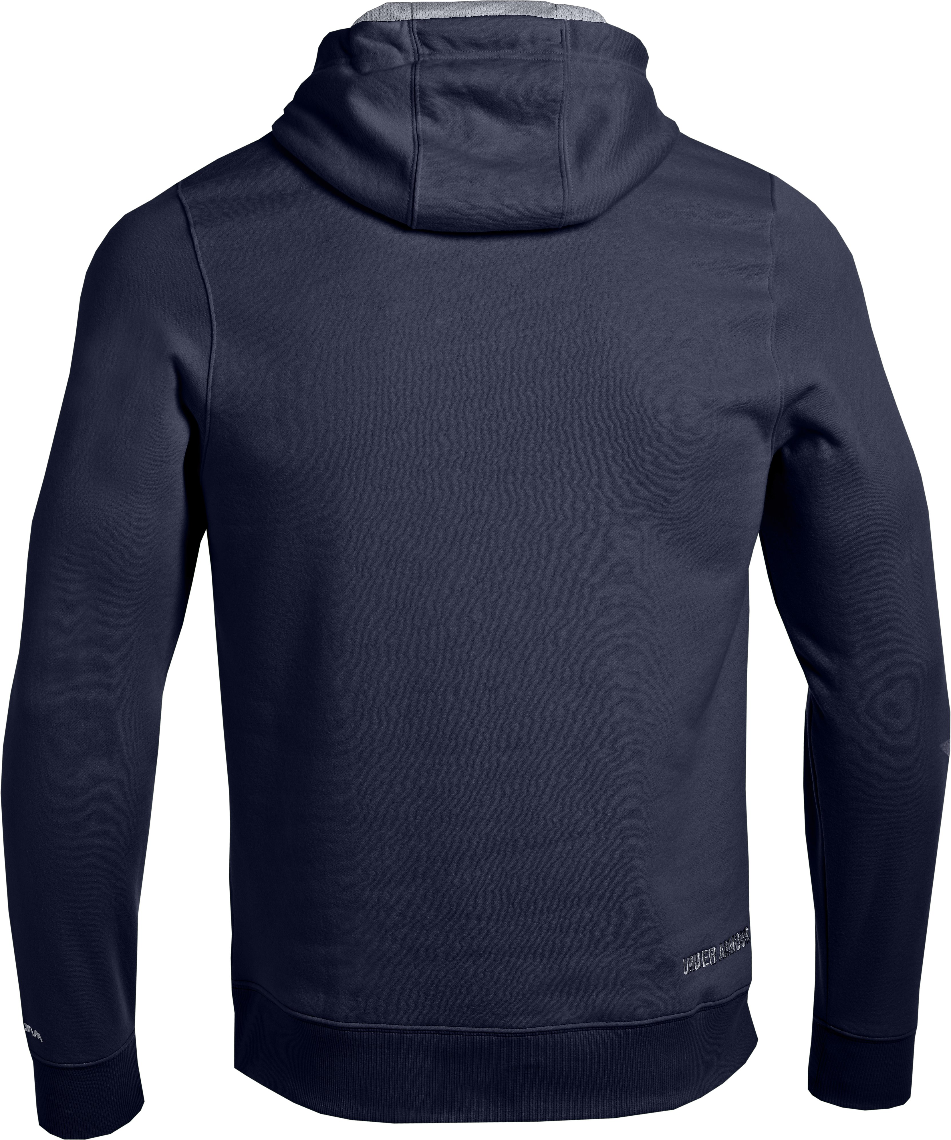 Men's Charged Cotton® Storm Transit Hoodie, Midnight Navy
