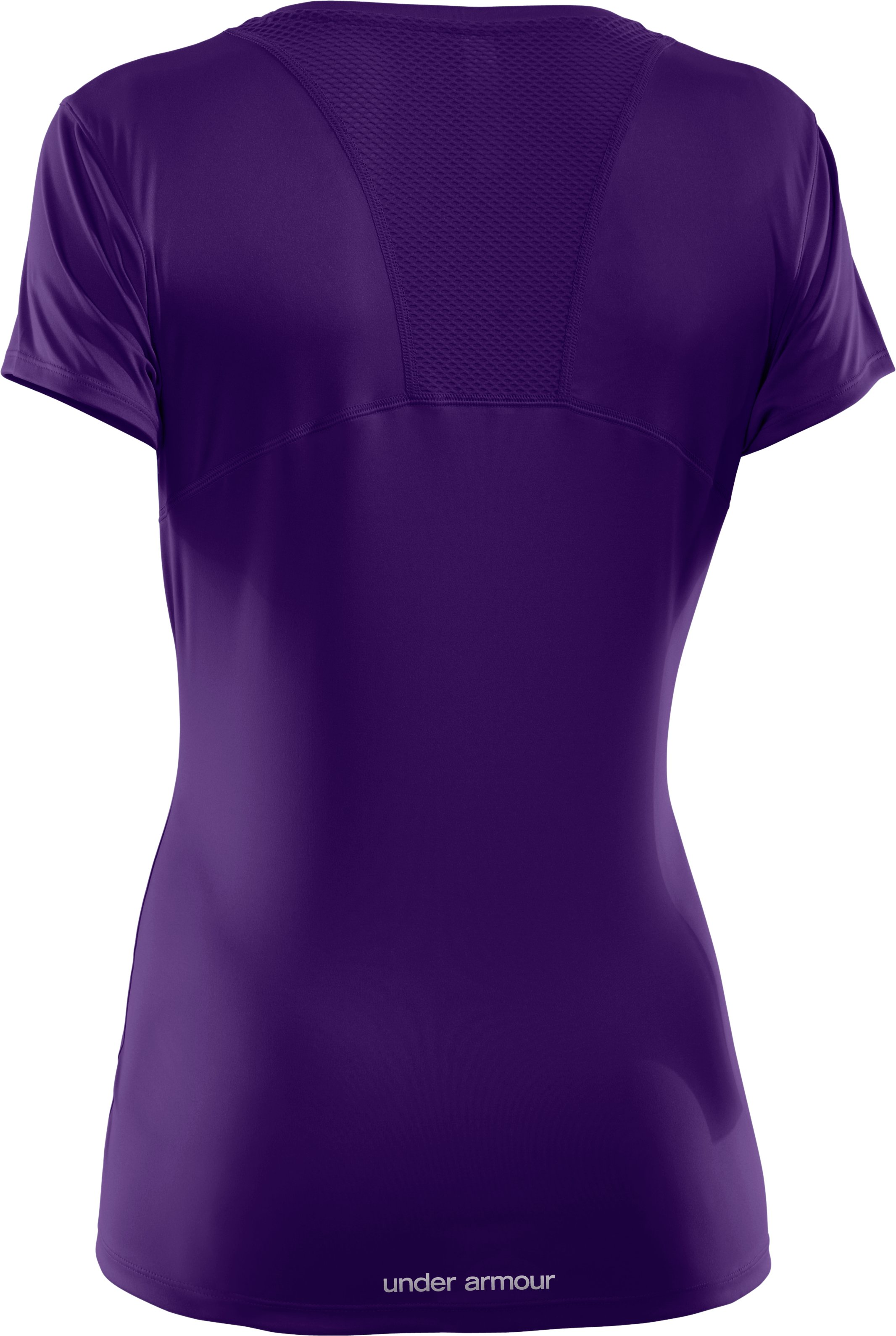 Women's UA Flyweight T-Shirt, Purple Rain, undefined